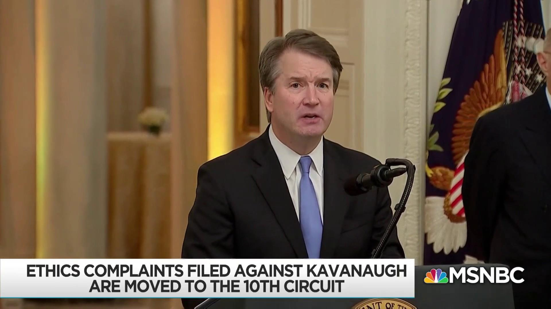 Kavanaugh ethics complaints referred to 10th Circuit court