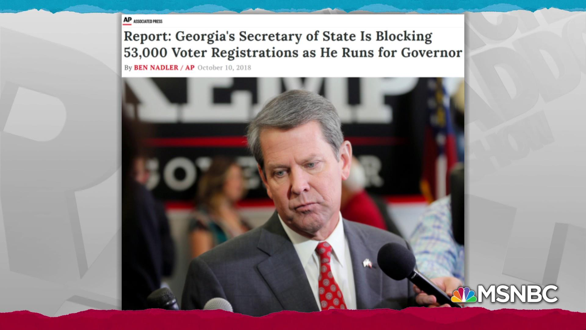 Kemp record shows poor stewardship of Georgia's election system
