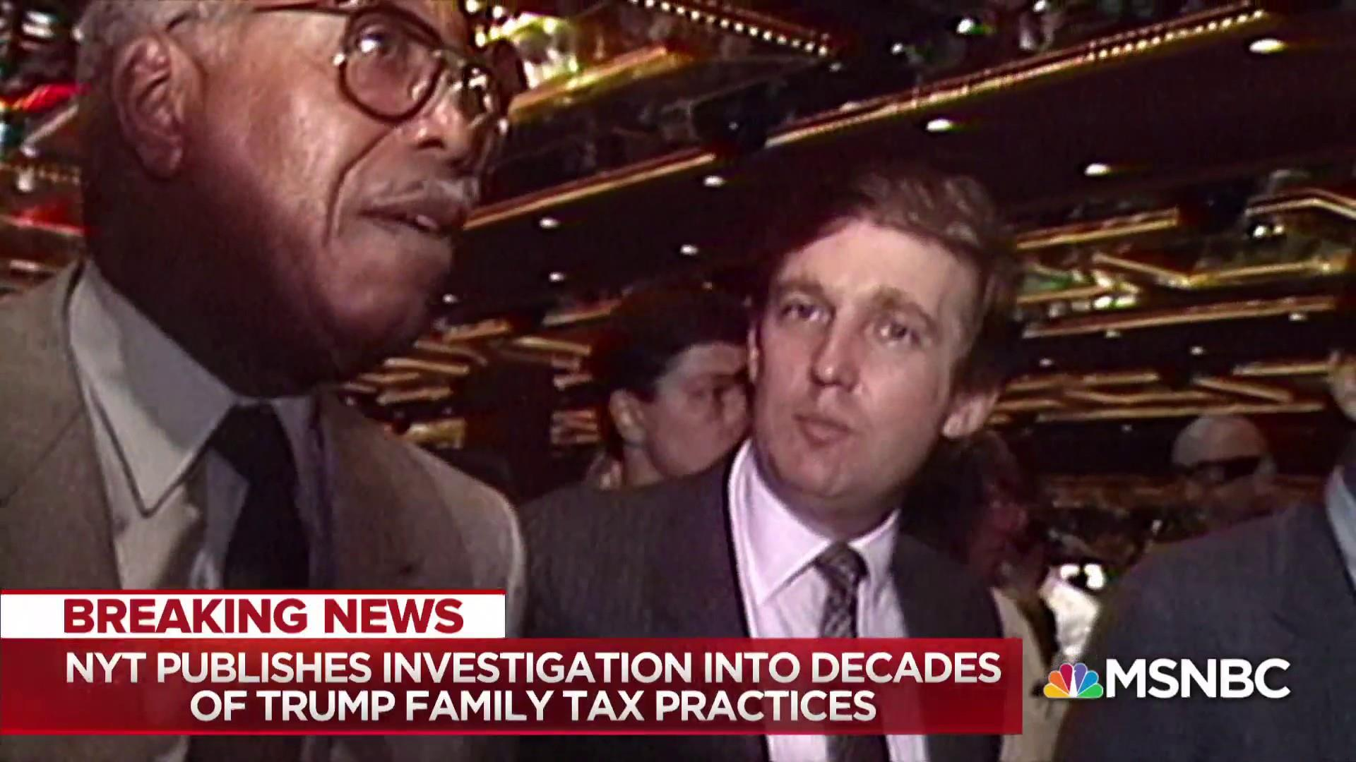 Fraud of Trump's self-made persona exposed in father's financials