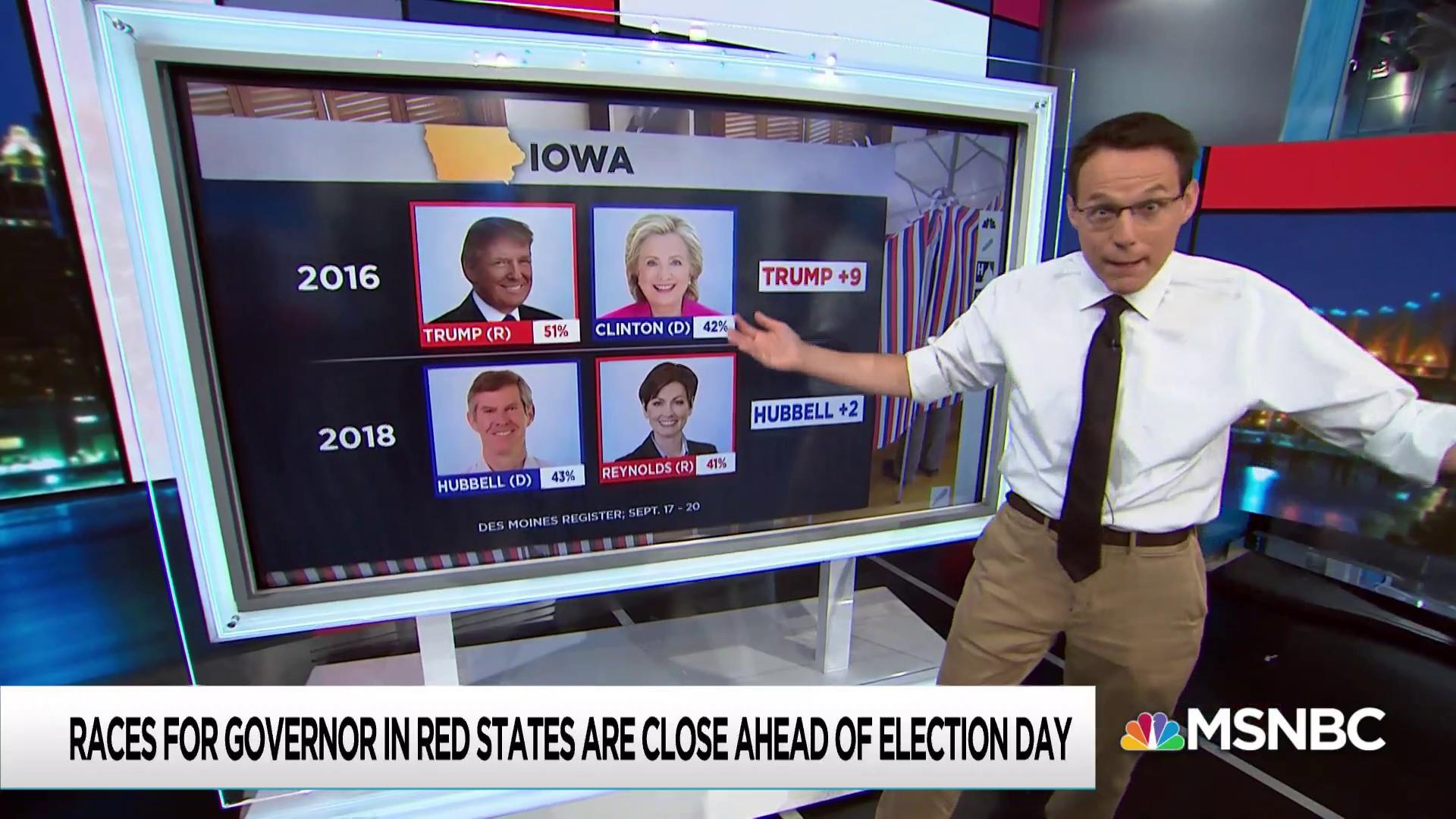 Obama/Trump states not a lock for Republicans in governor races