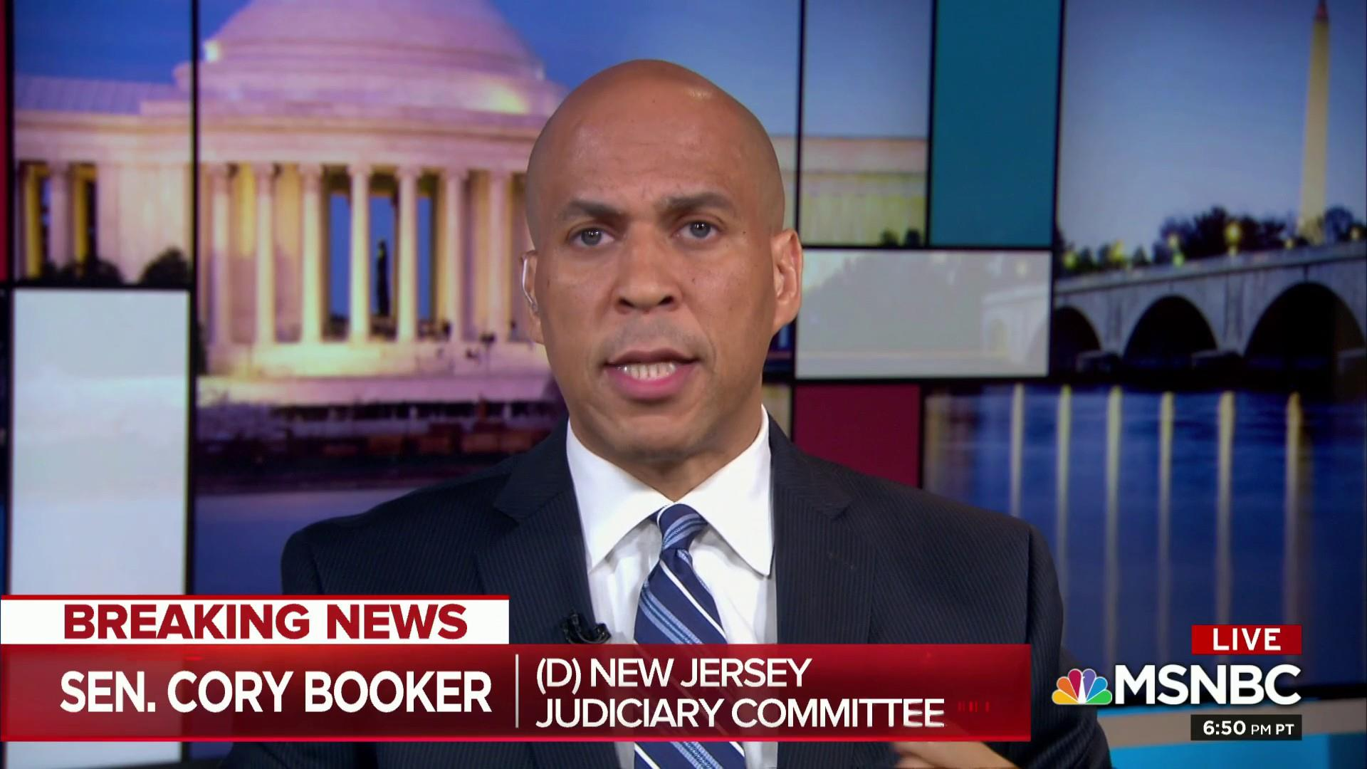 Booker: FBI Kavanaugh report not a sincere effort to find truth