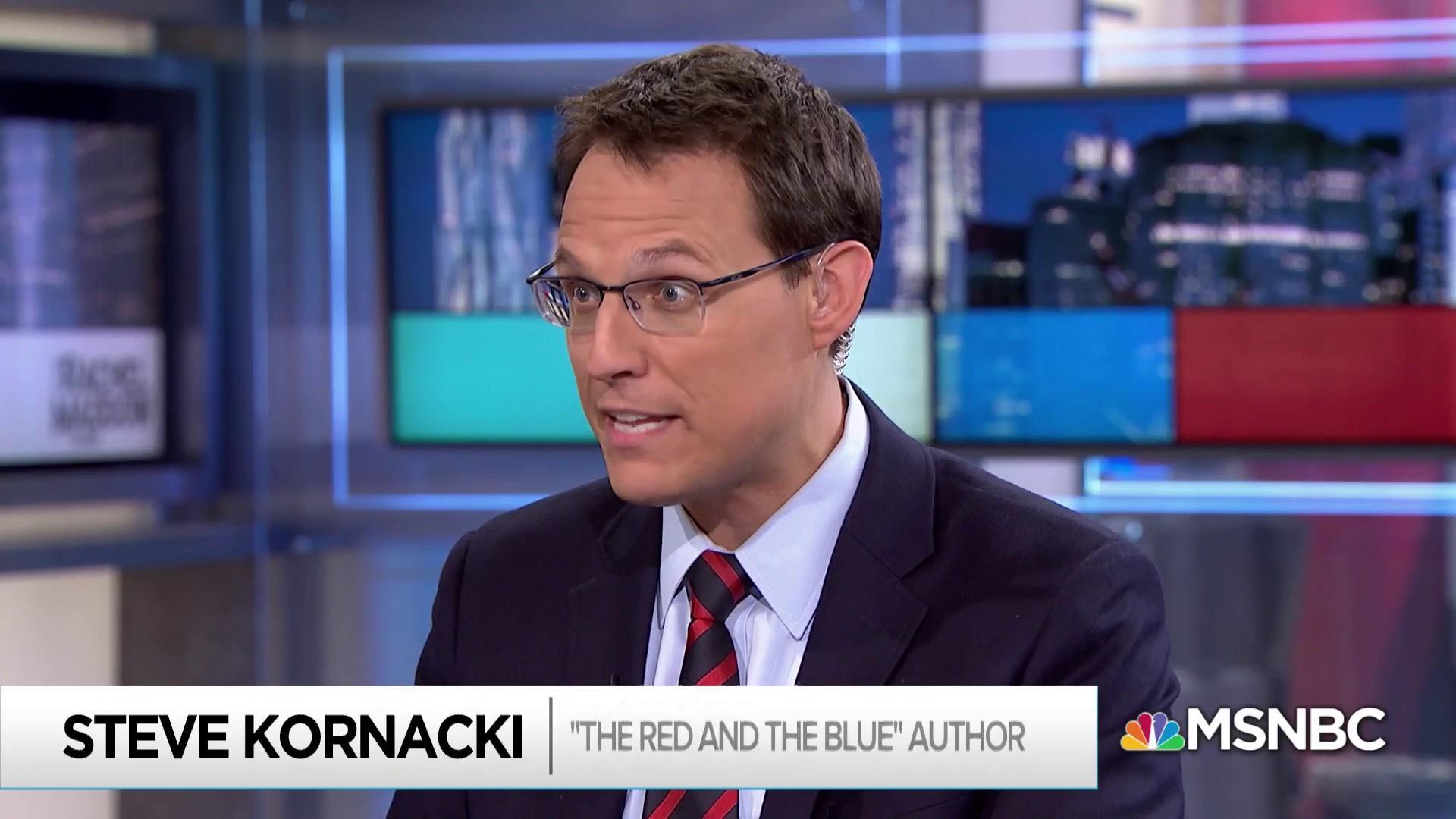 Steve Kornacki on the origins of America's deep political divide