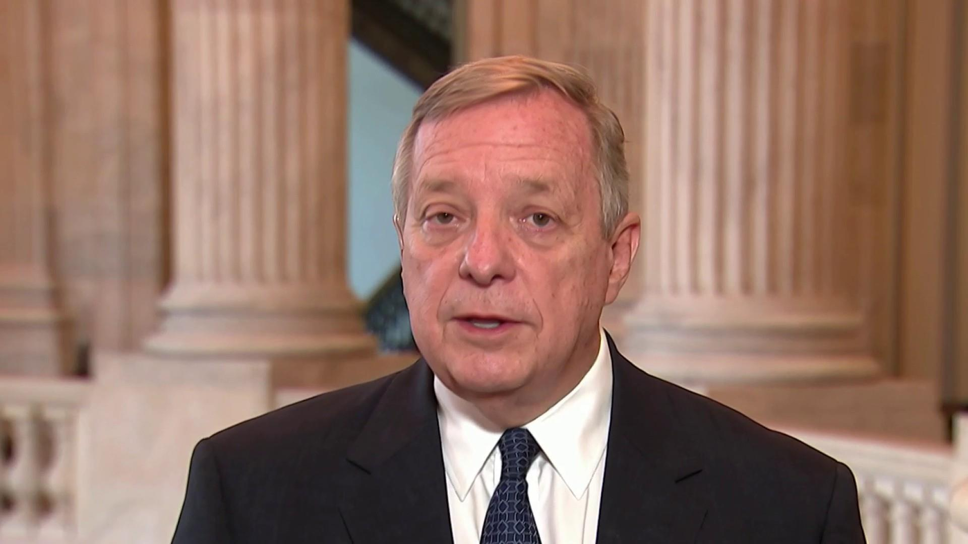 Durbin: 'Unthinkable' that Secy. Nielsen not removed from DHS