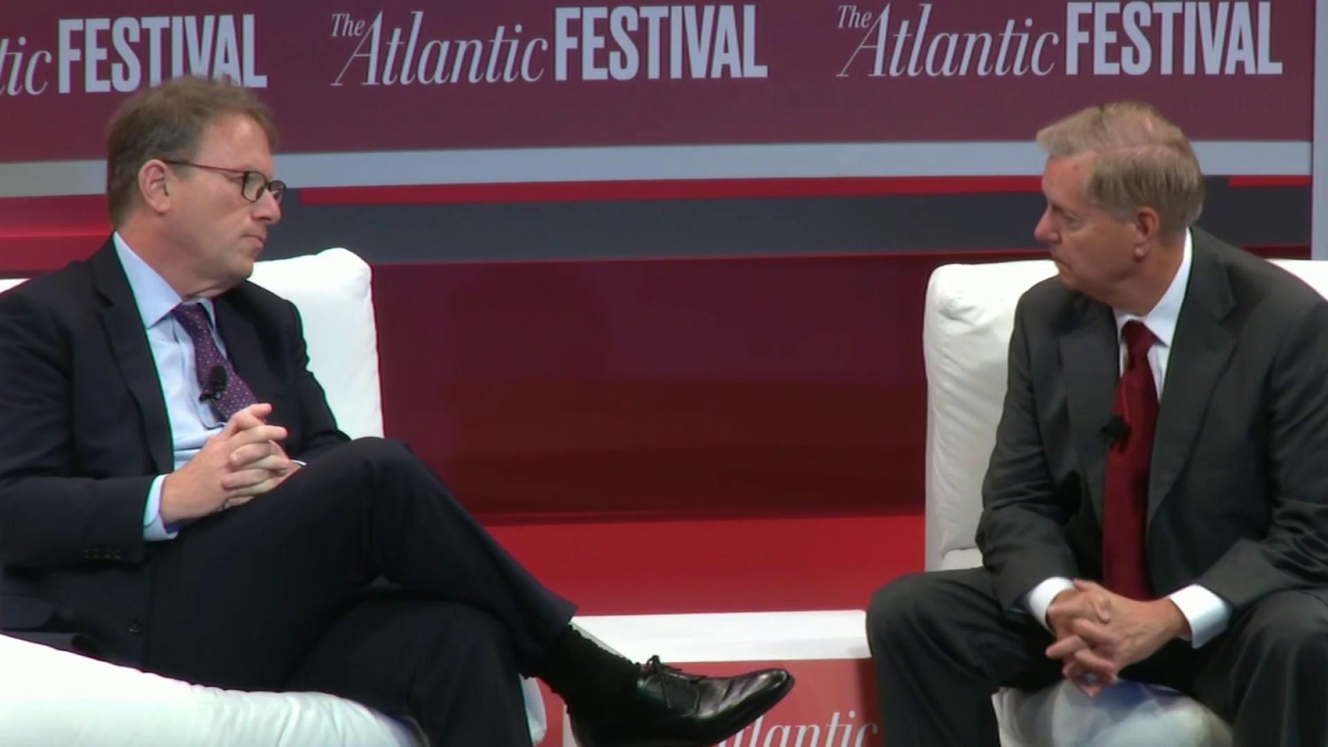 Graham tells Atlantic McCain's death left vacuum in senate