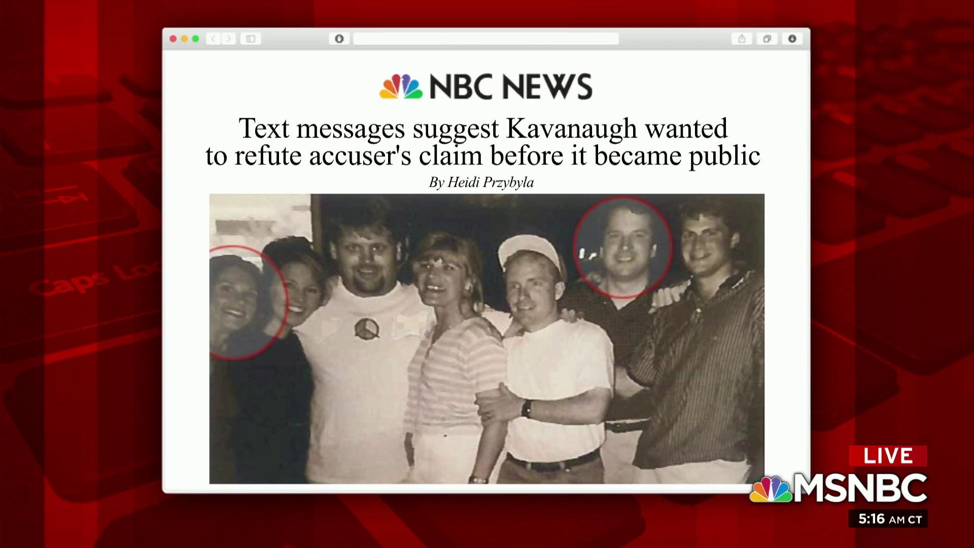 What new text messages reveal about allegations