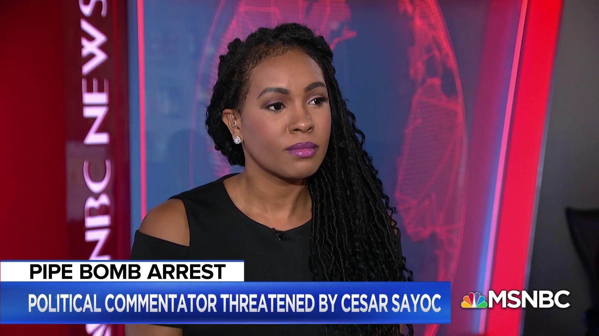 Political commentator: I was threatened by pipe bomb suspect