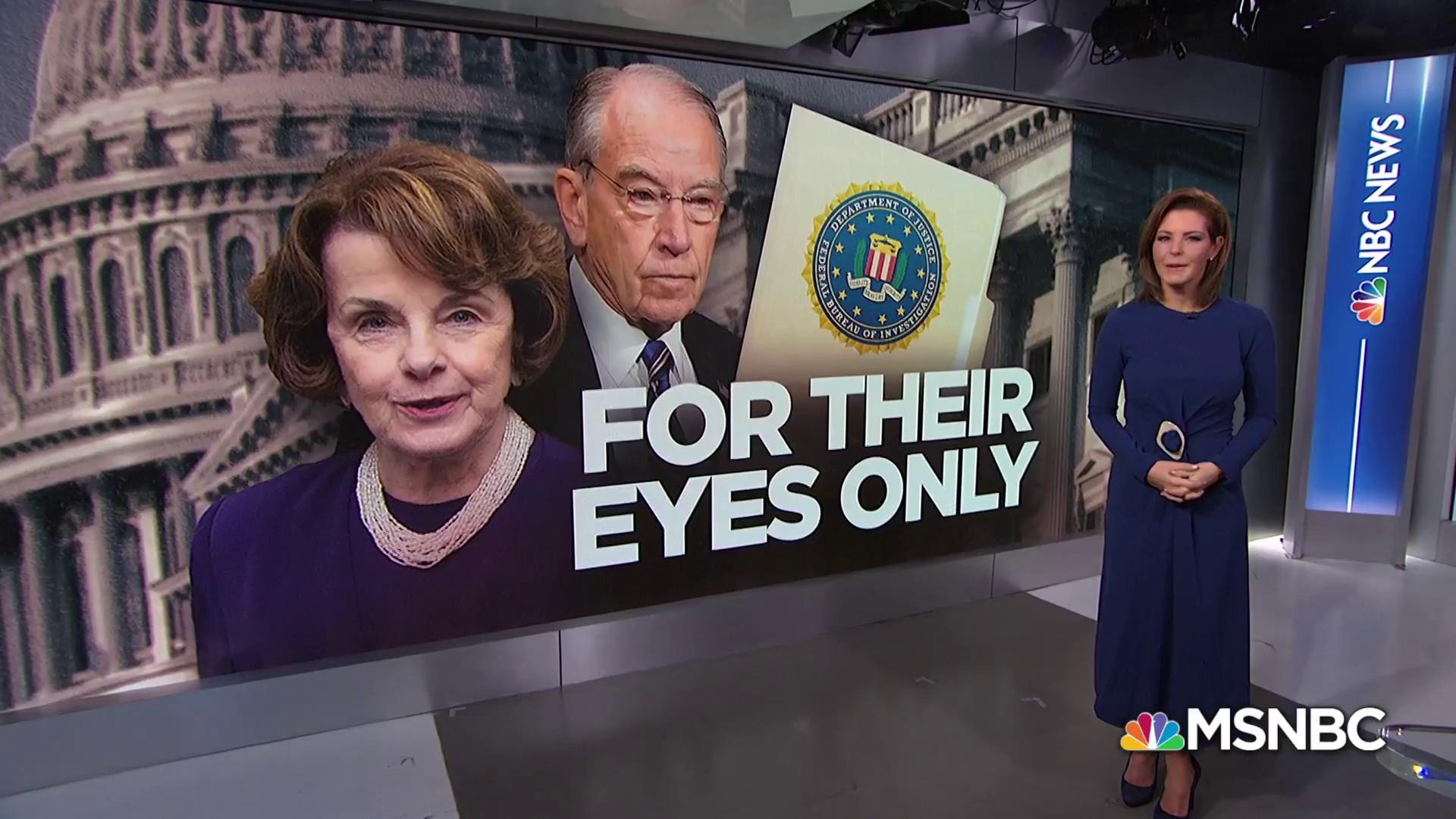 Senators begin reviewing Kavanaugh FBI report behind closed doors