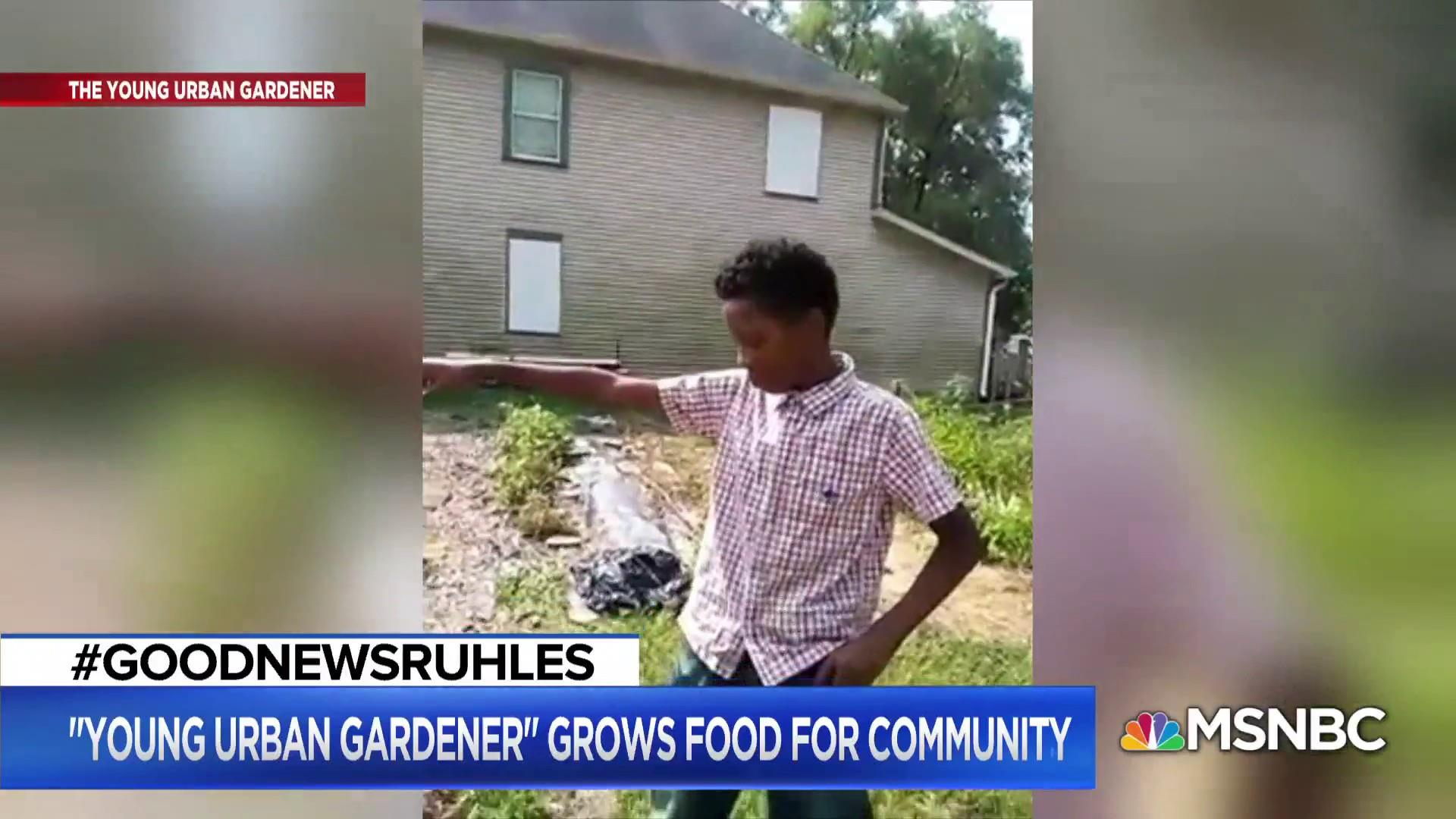 #GoodNewsRUHLES: The Young Urban Gardener