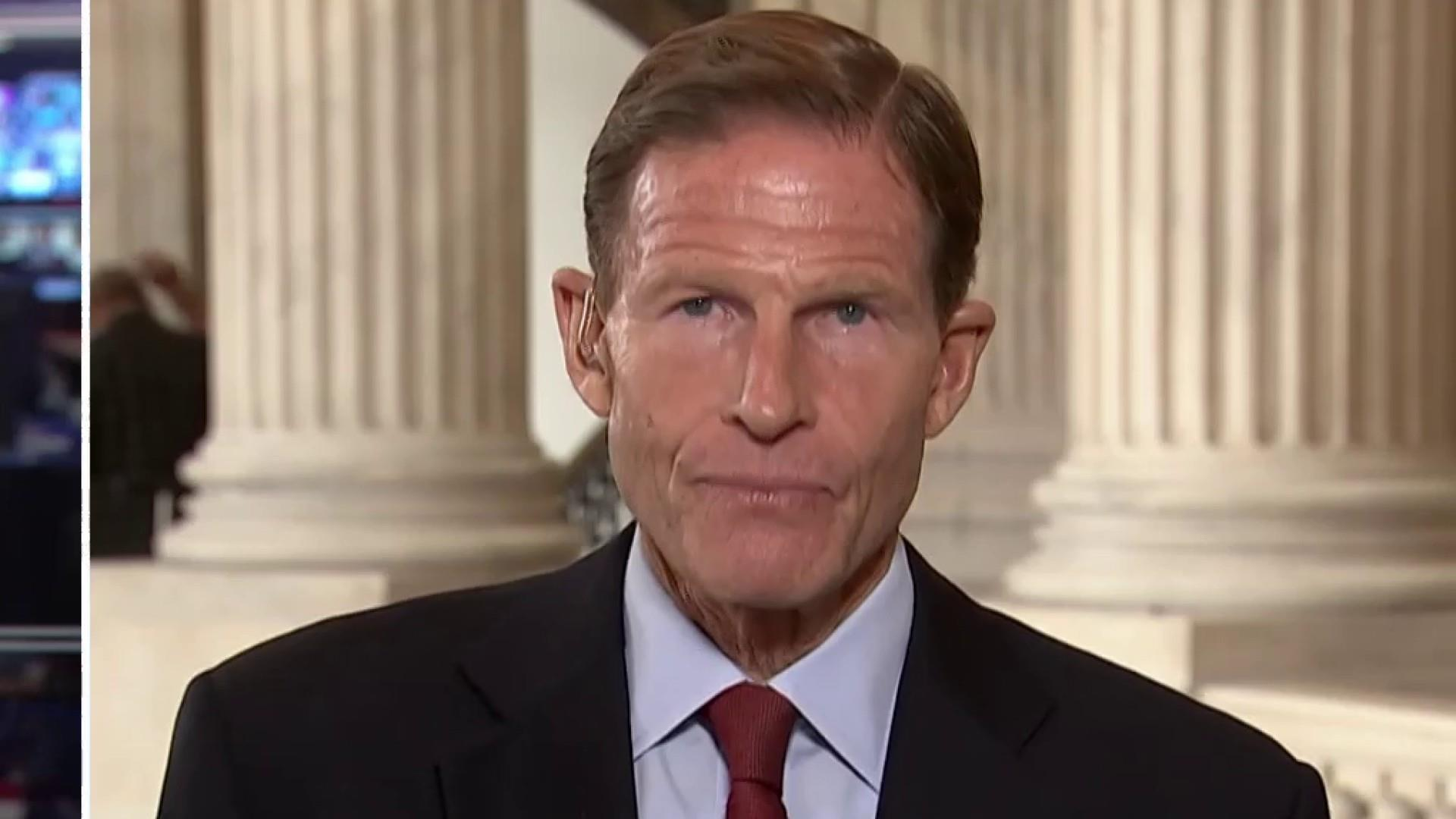 Sen. Blumenthal on Kavanaugh: 'Issues of credibility are central to his qualifications' for SCOTUS