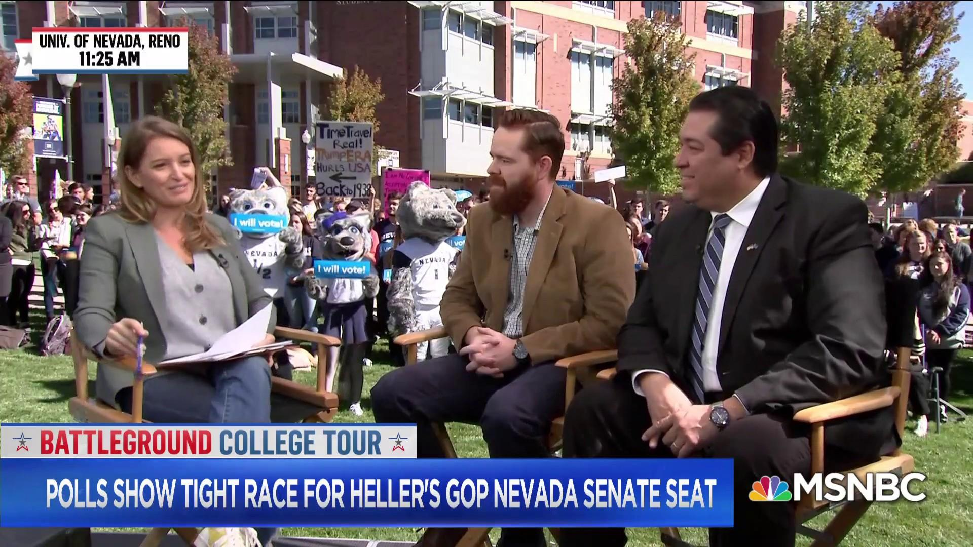 Dean Heller's fight for his Senate seat