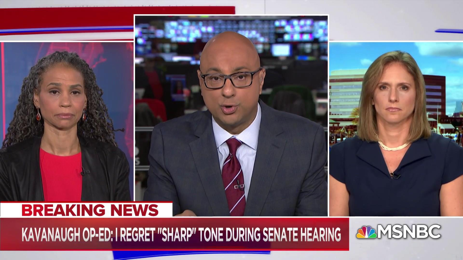 Democrats argue Kavanaugh's angry remarks make him ineligible