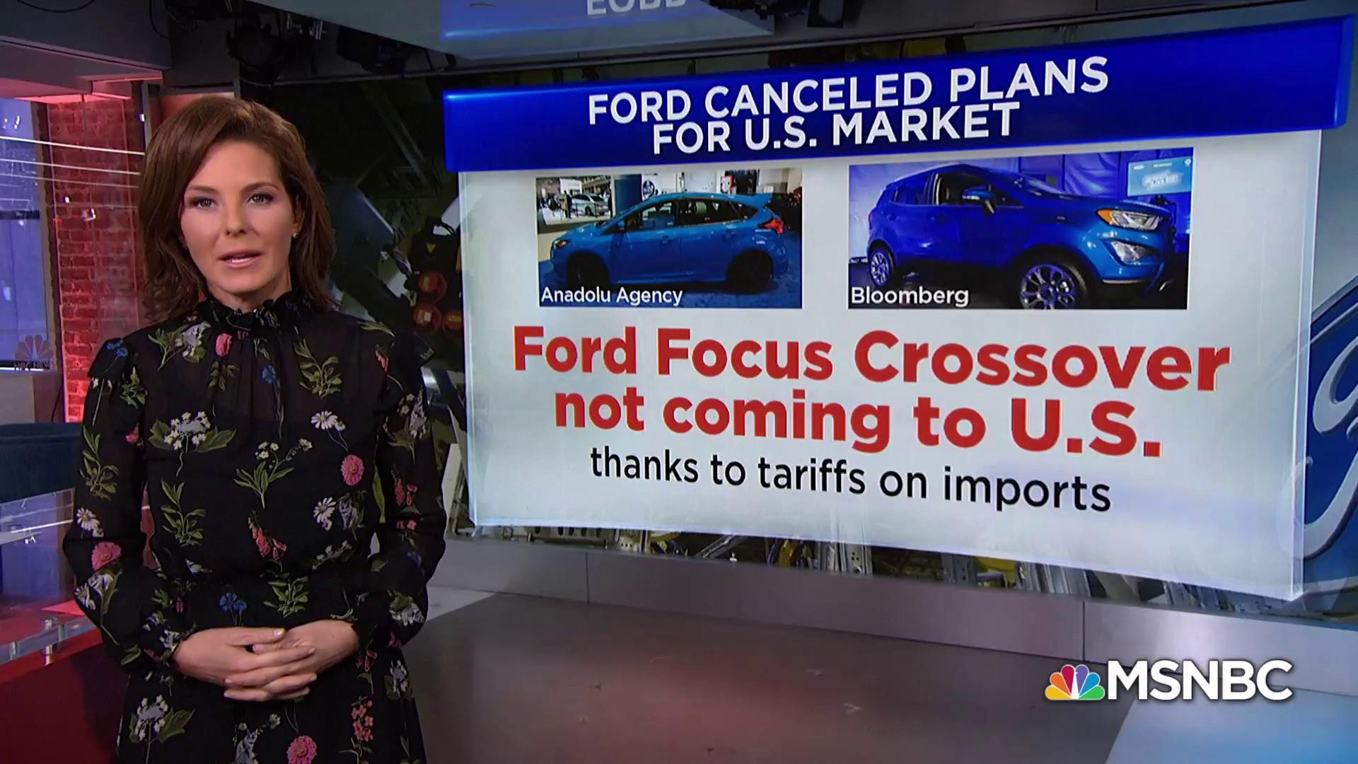 President Trump's trade war has cost Ford Motor Company $1B