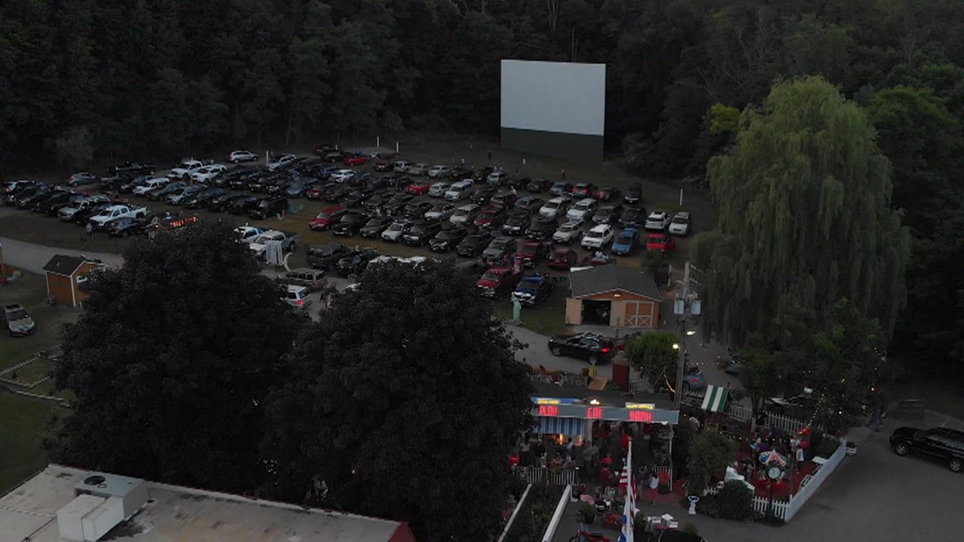 Drive In Movie Theaters Are A Nostalgic Choice During The Coronavirus