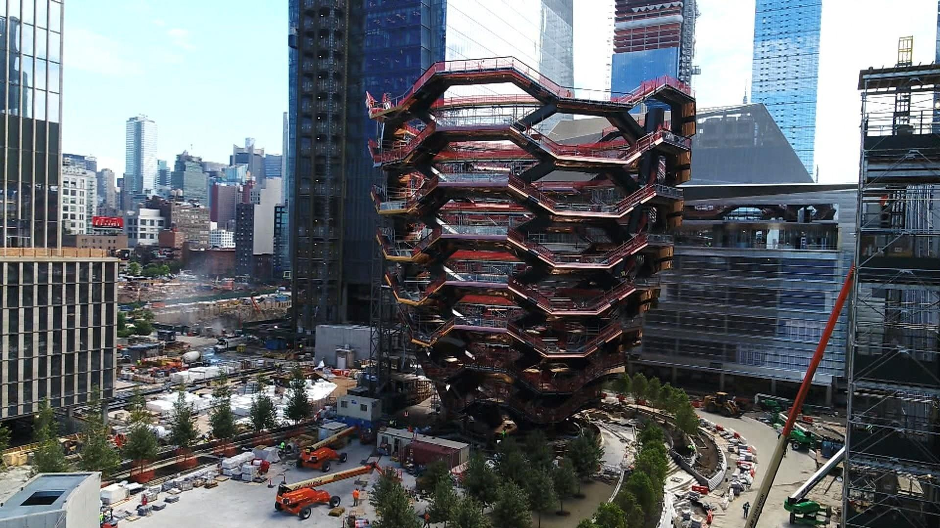 Inside 'Vessel,' New York City's new architectural marvel