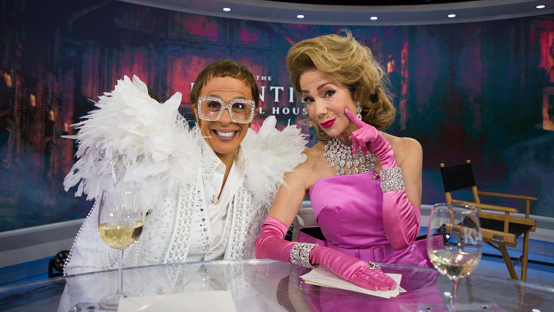 see klg and hoda channel madonna and elton john for halloween
