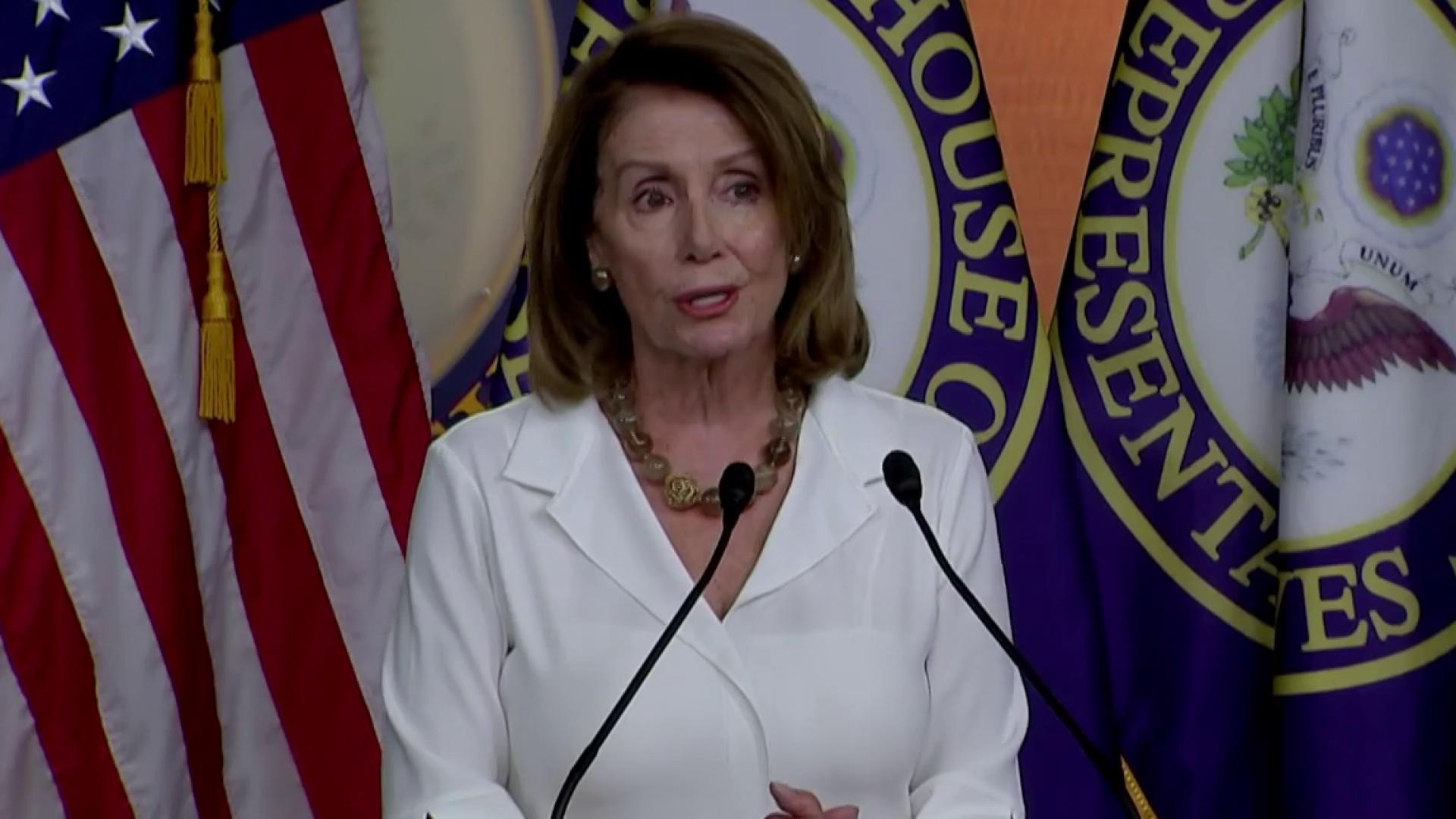 Potential challenger quits, Pelosi likely next Speaker
