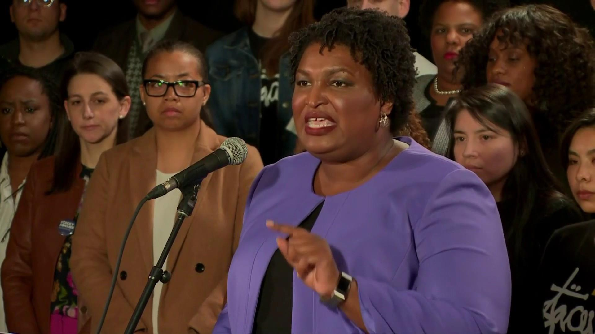 Democrat Stacey Abrams ends bid for Georgia governor, accuses winner of voter suppression