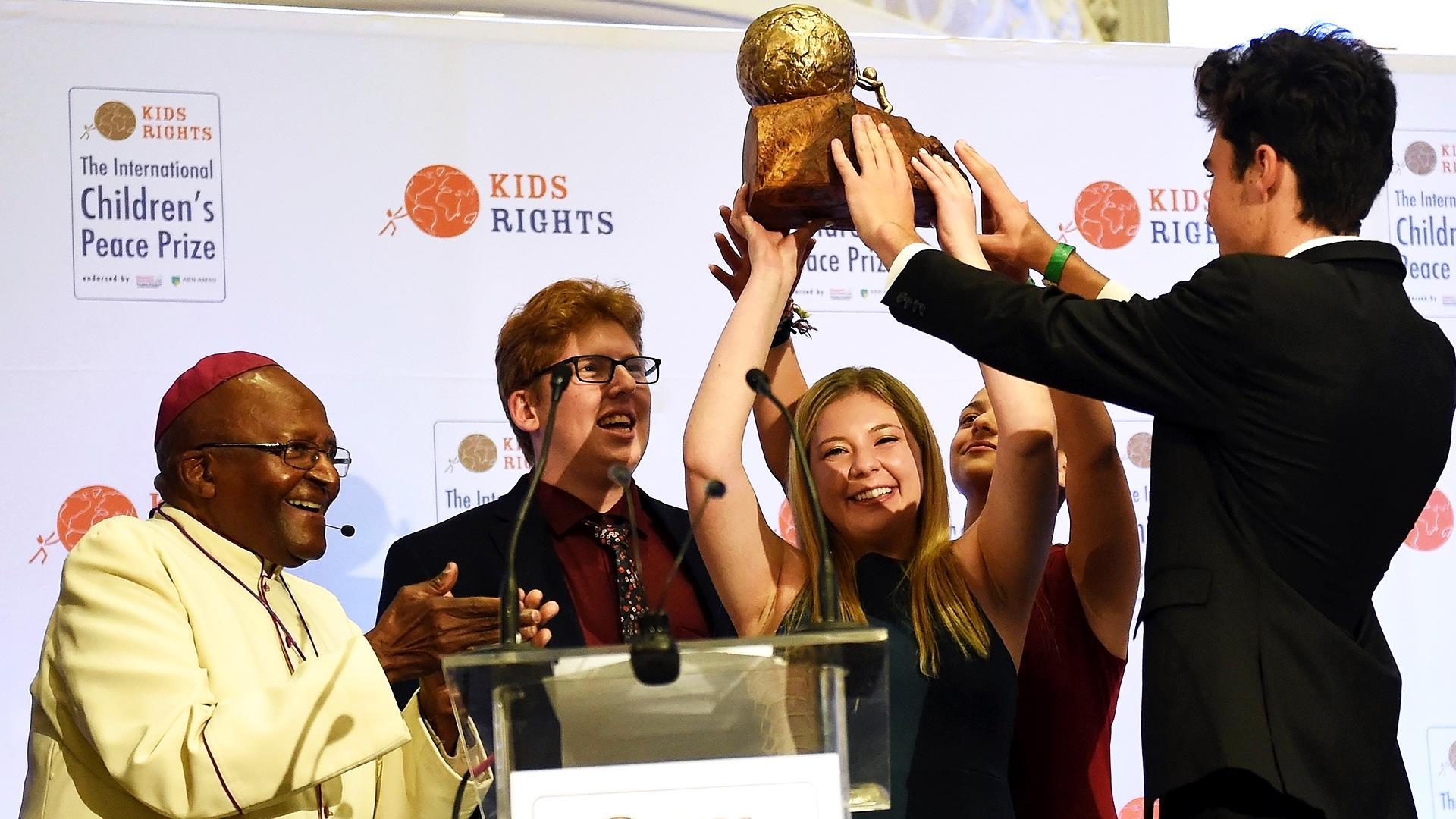 Parkland shooting survivors awarded International Children's Peace Prize