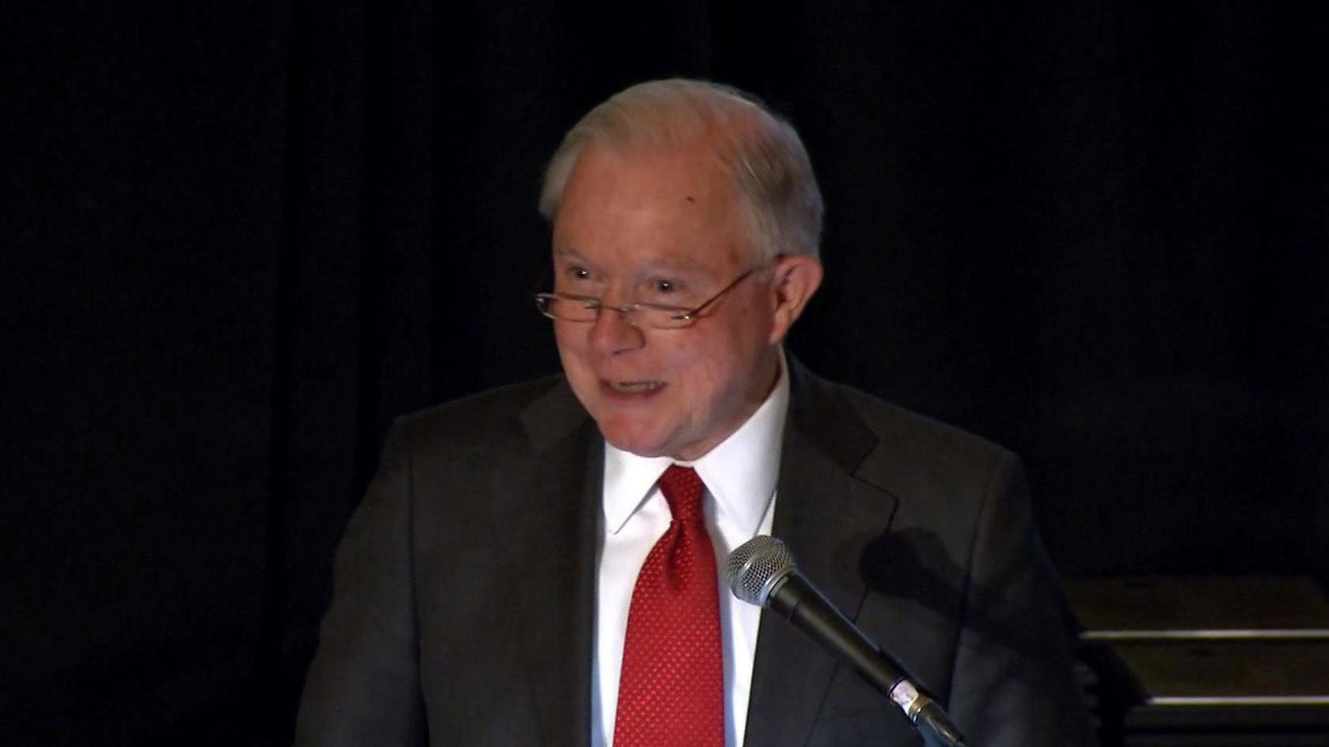 Fmr. U.S. Attorney General Jeff Sessions calls resignation pink slip