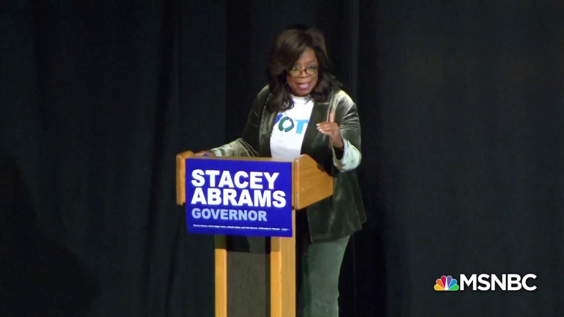 Fmr. DNC Chair: Oprah transcends politics, reaches the heart