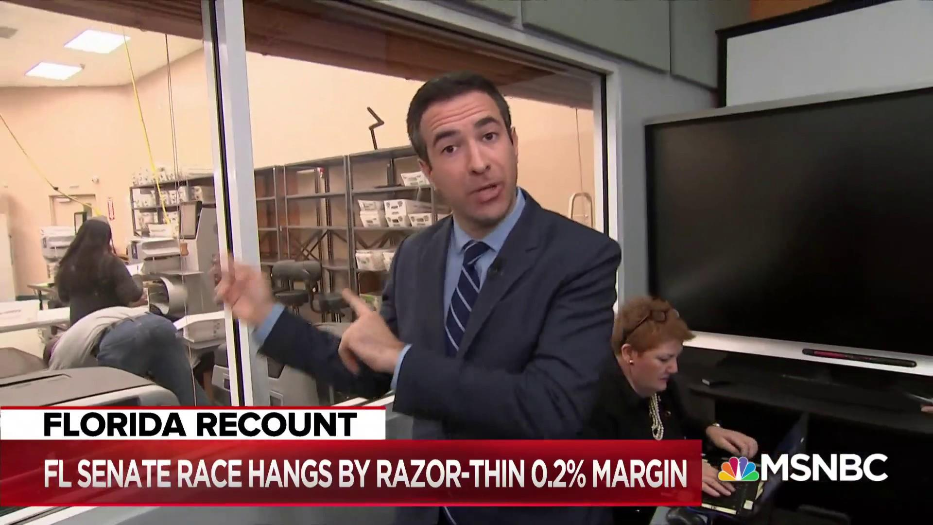 Ari Melber: How the Florida recount process actually works