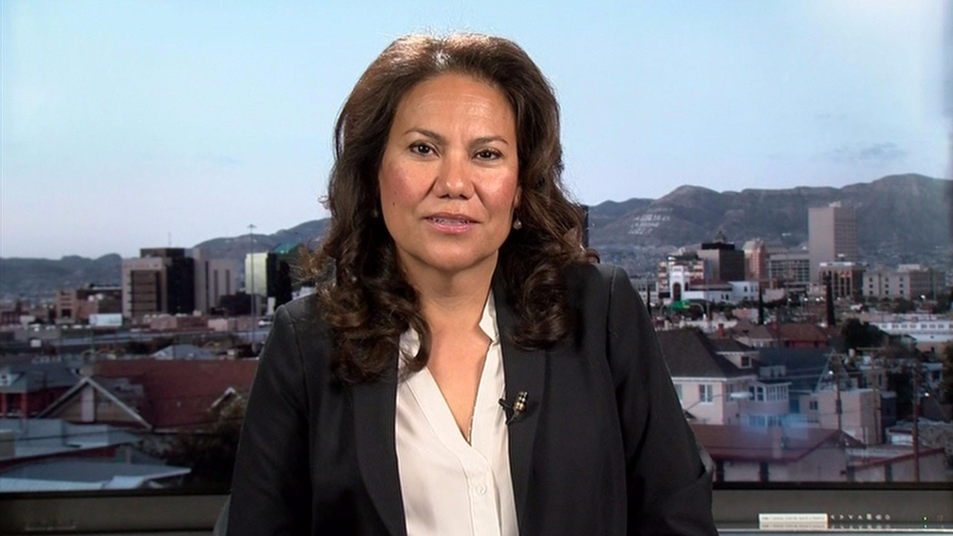 Escobar on Dem majority: 'I think a woman is the right person to lead'