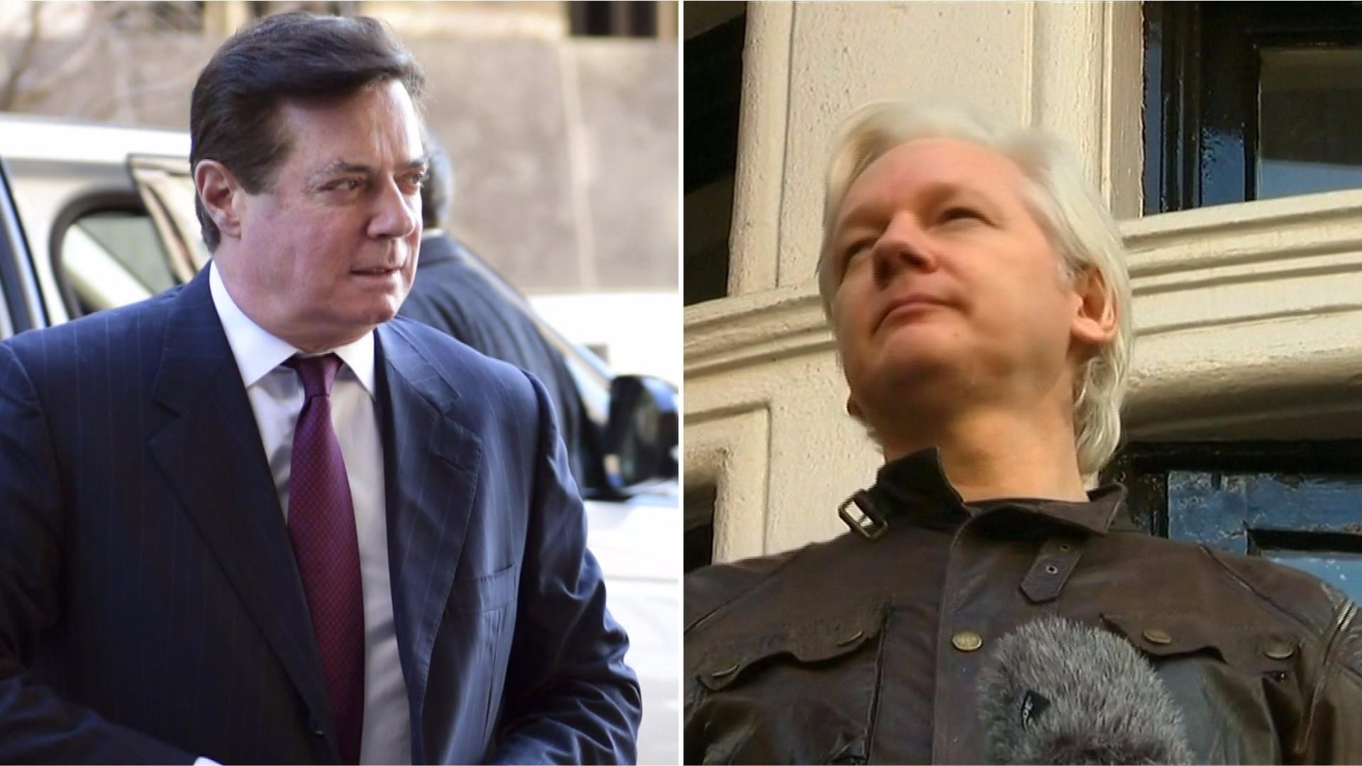 Guardian report: Manafort held secret talks with WikiLeaks founder Julian Assange
