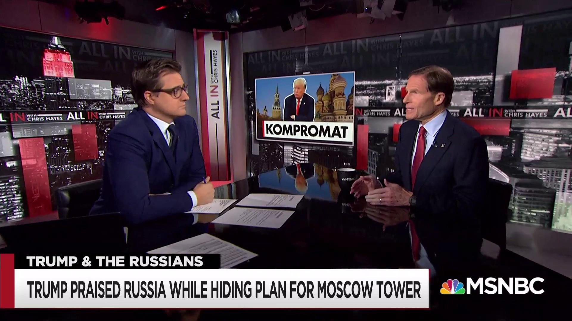 """Hayes: """"The President was compromised...full stop"""""""