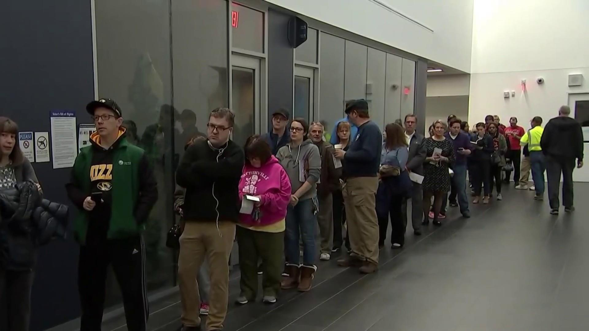 Election highlights voter suppression efforts in GA, ND