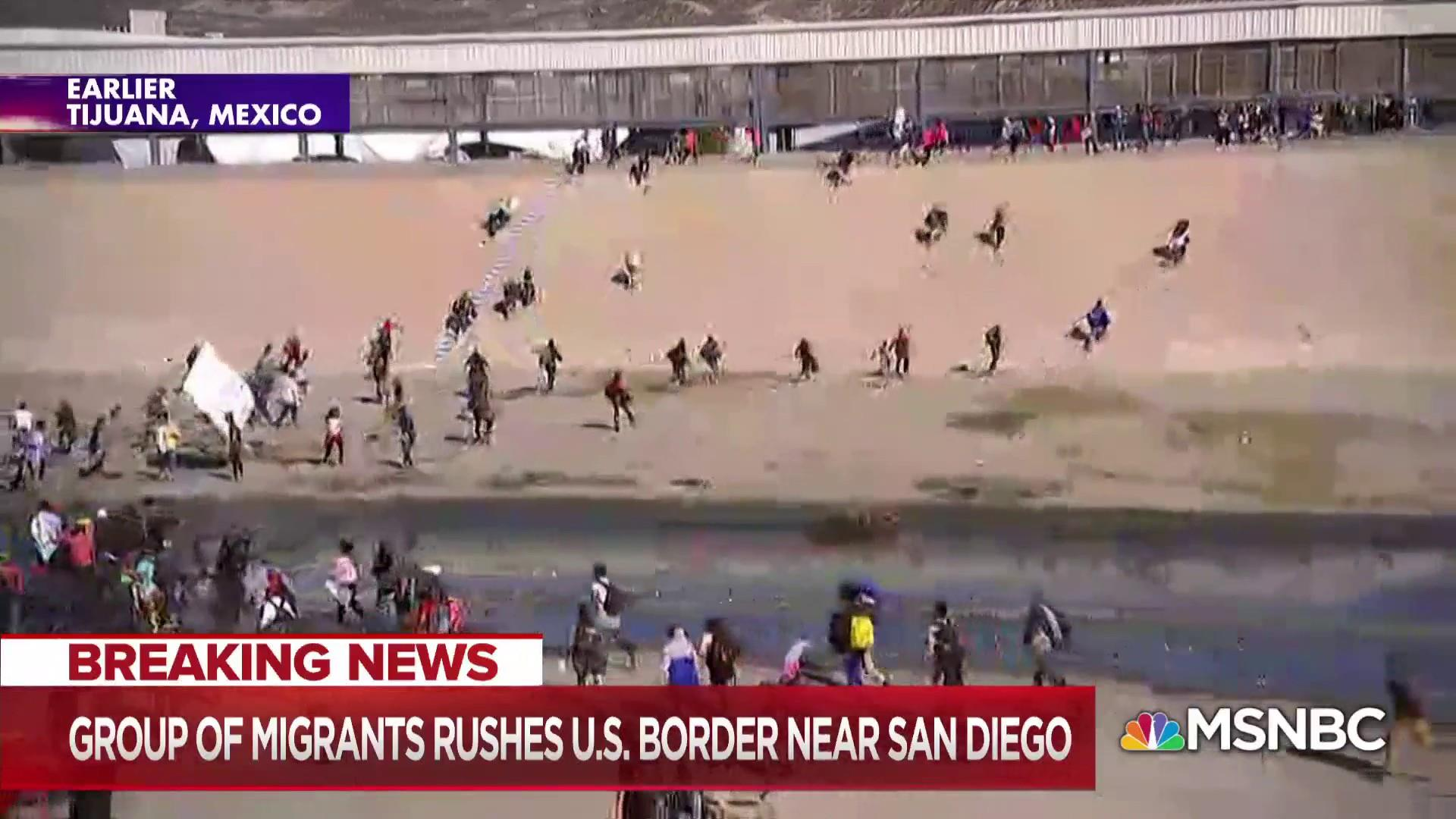Migrants rush the border as Trump administration rushes to close port of entry