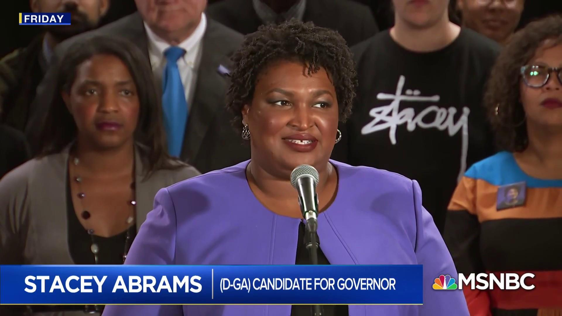 Rashad Robinson: Stacey Abrams has charted course for how Democrats need to stand up
