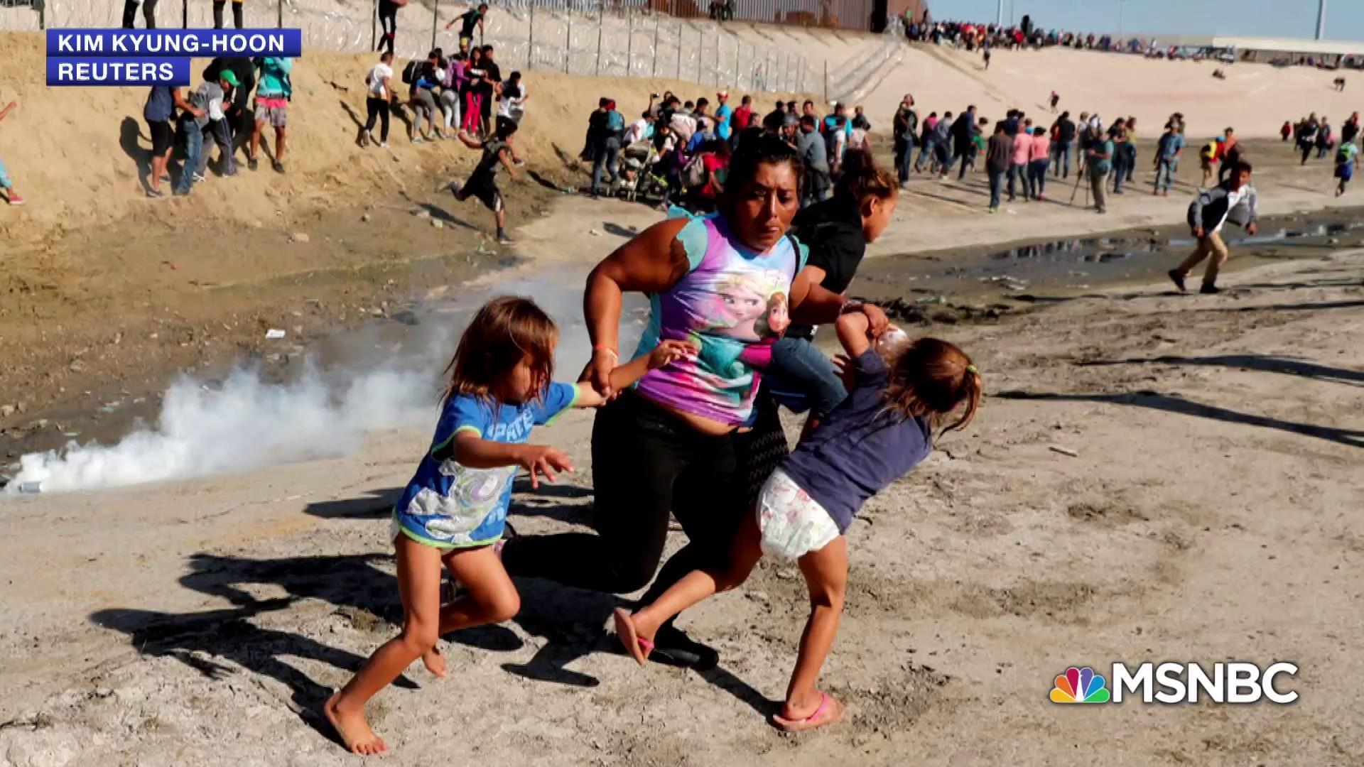 Trump disapproval reaches high amid border chaos