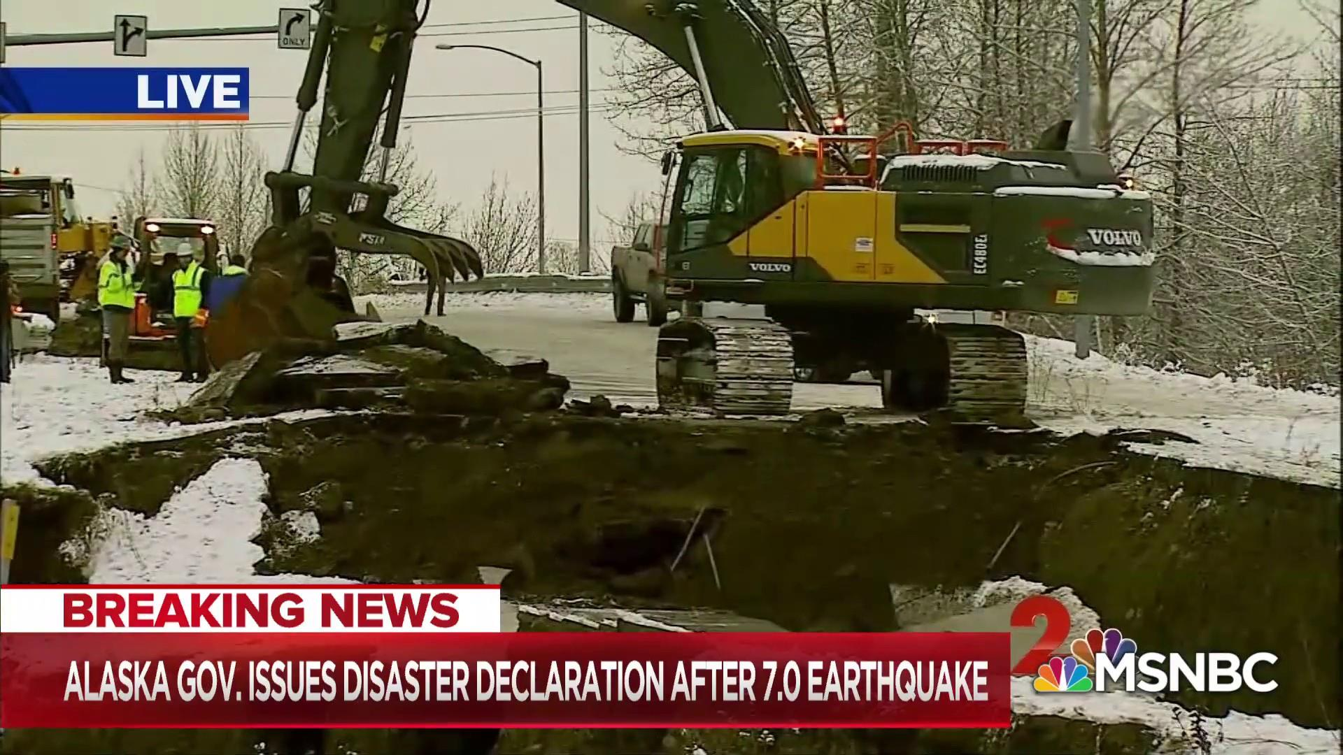 Massive earthquake leaves Alaska infrastructure in shambles