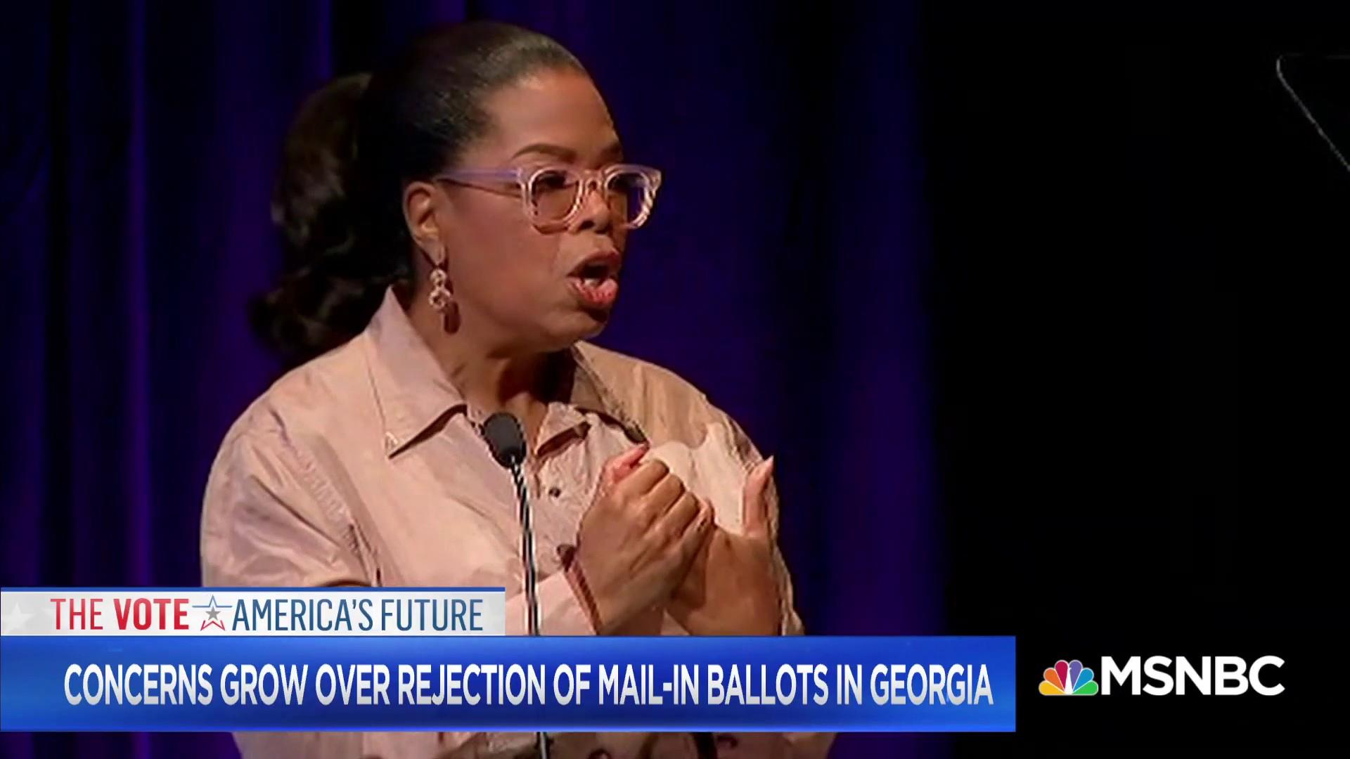 Is Oprah the key to energizing Georgia voters?