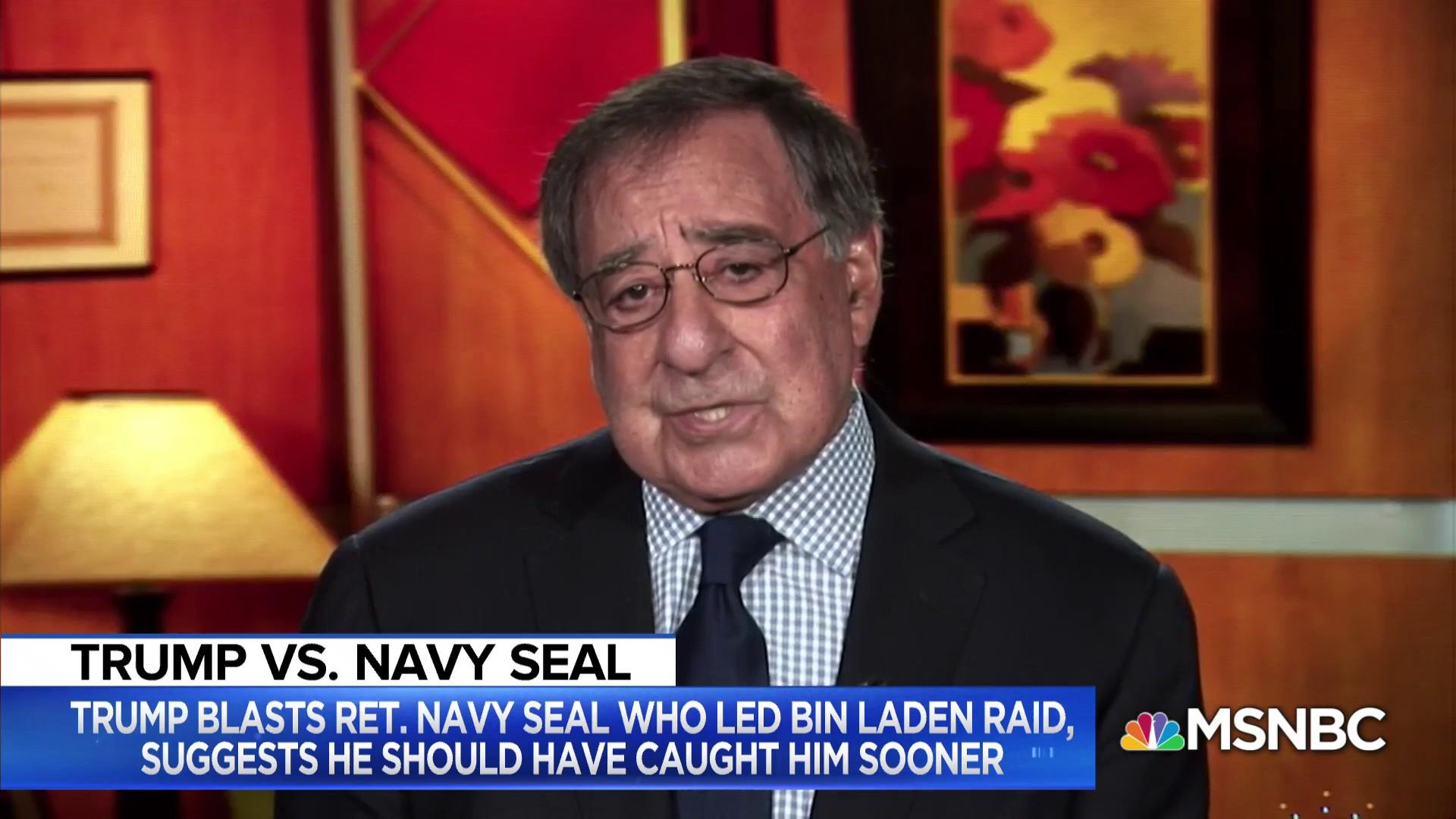 Leon Panetta: President Trump undermining his position, owes Admiral McRaven an apology