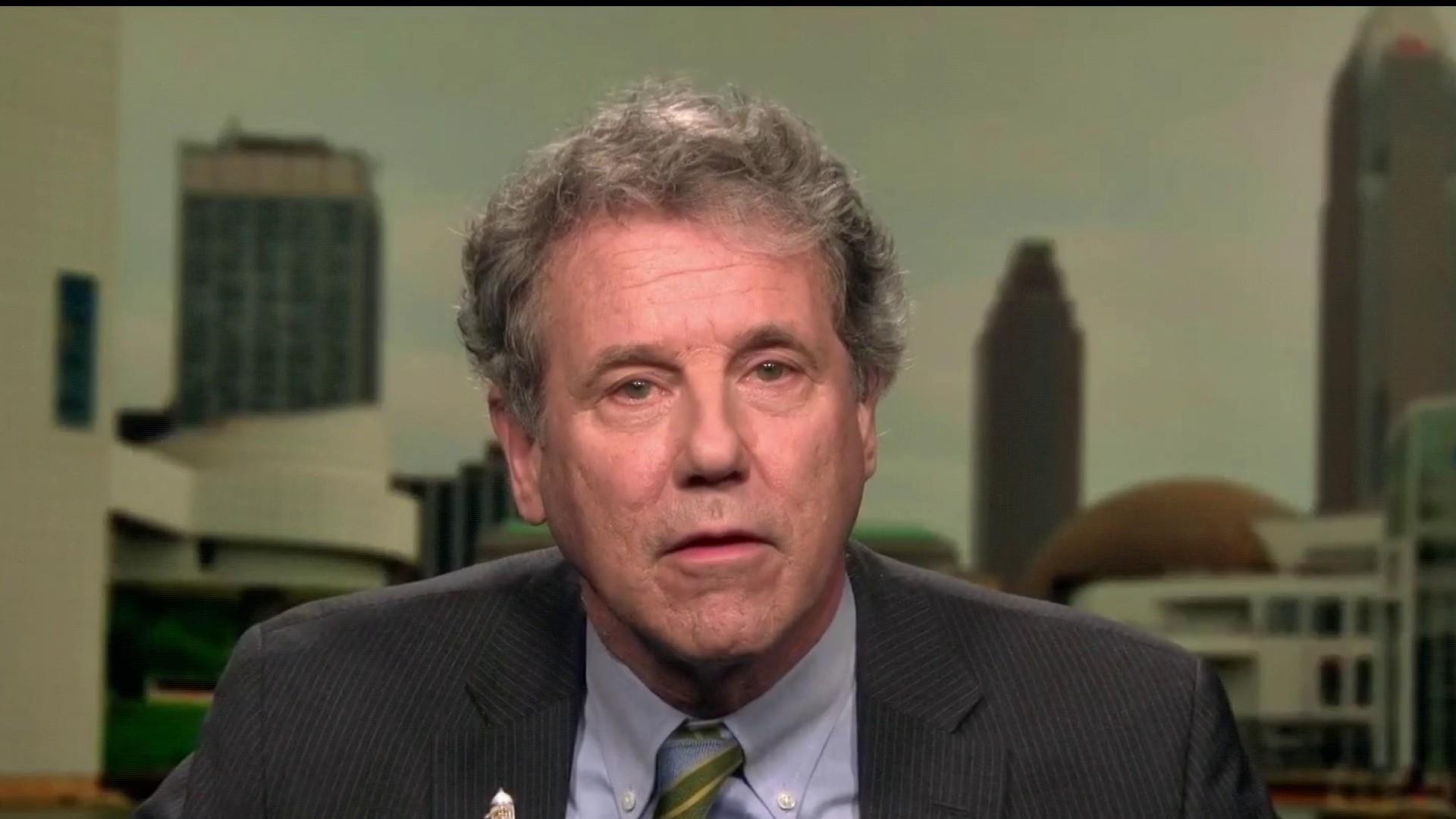 Sherrod Brown lays out areas of focus for Dems