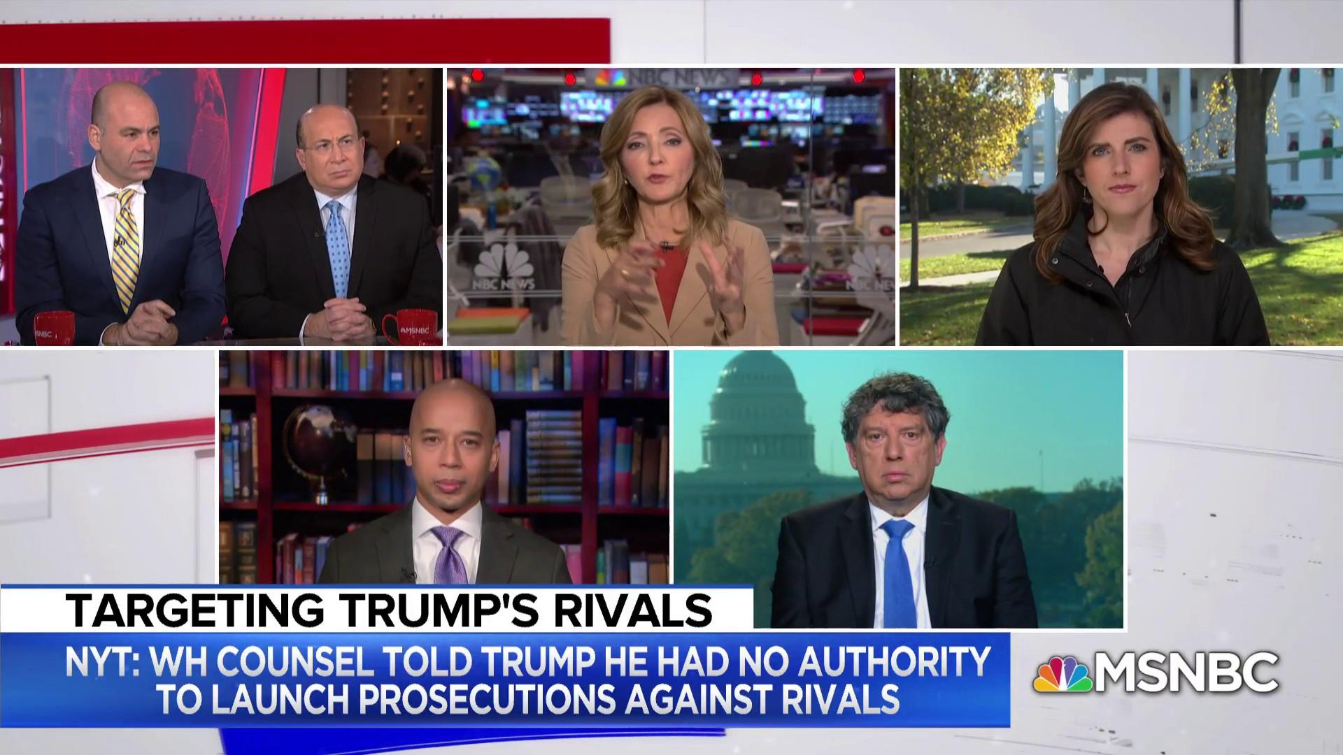 Don McGahn reportedly stopped Trump from prosecuting Clinton and Comey