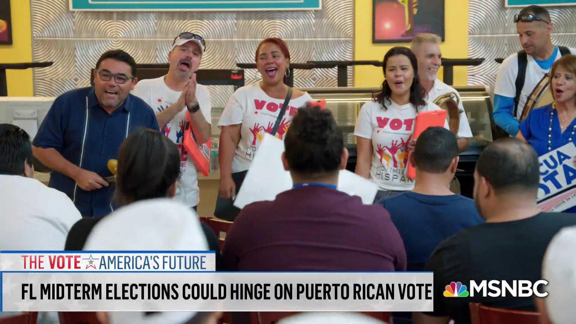 How could Puerto Rican voters affect the midterms?