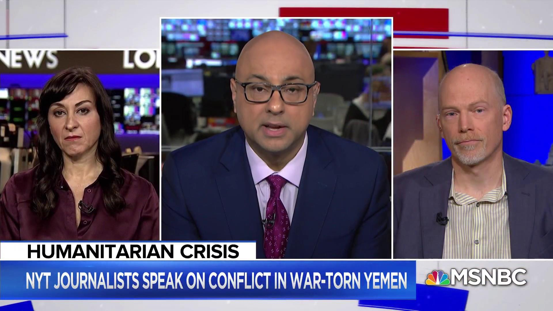 The conflict in Yemen: 'Our goal is to show what's happening there'