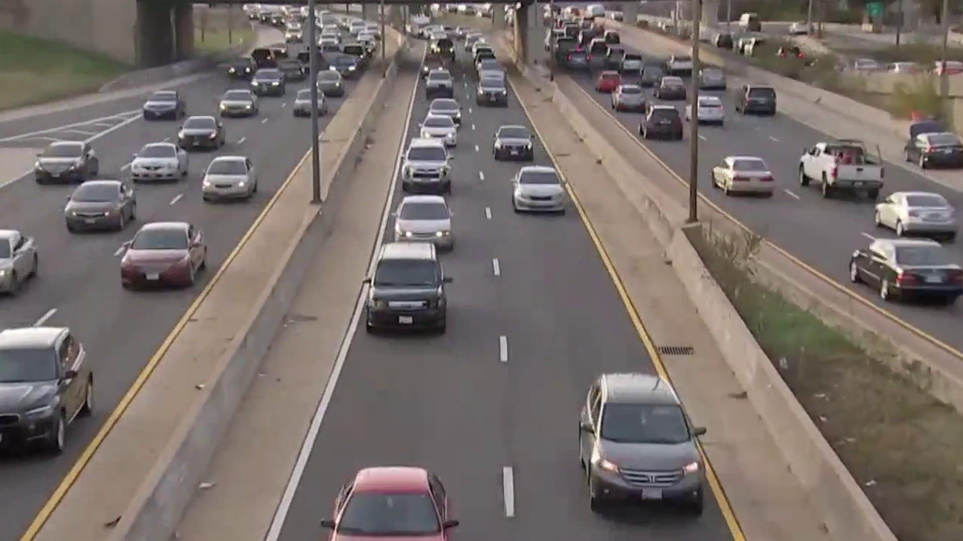 54 million Americans on the move ahead of Thanksgiving