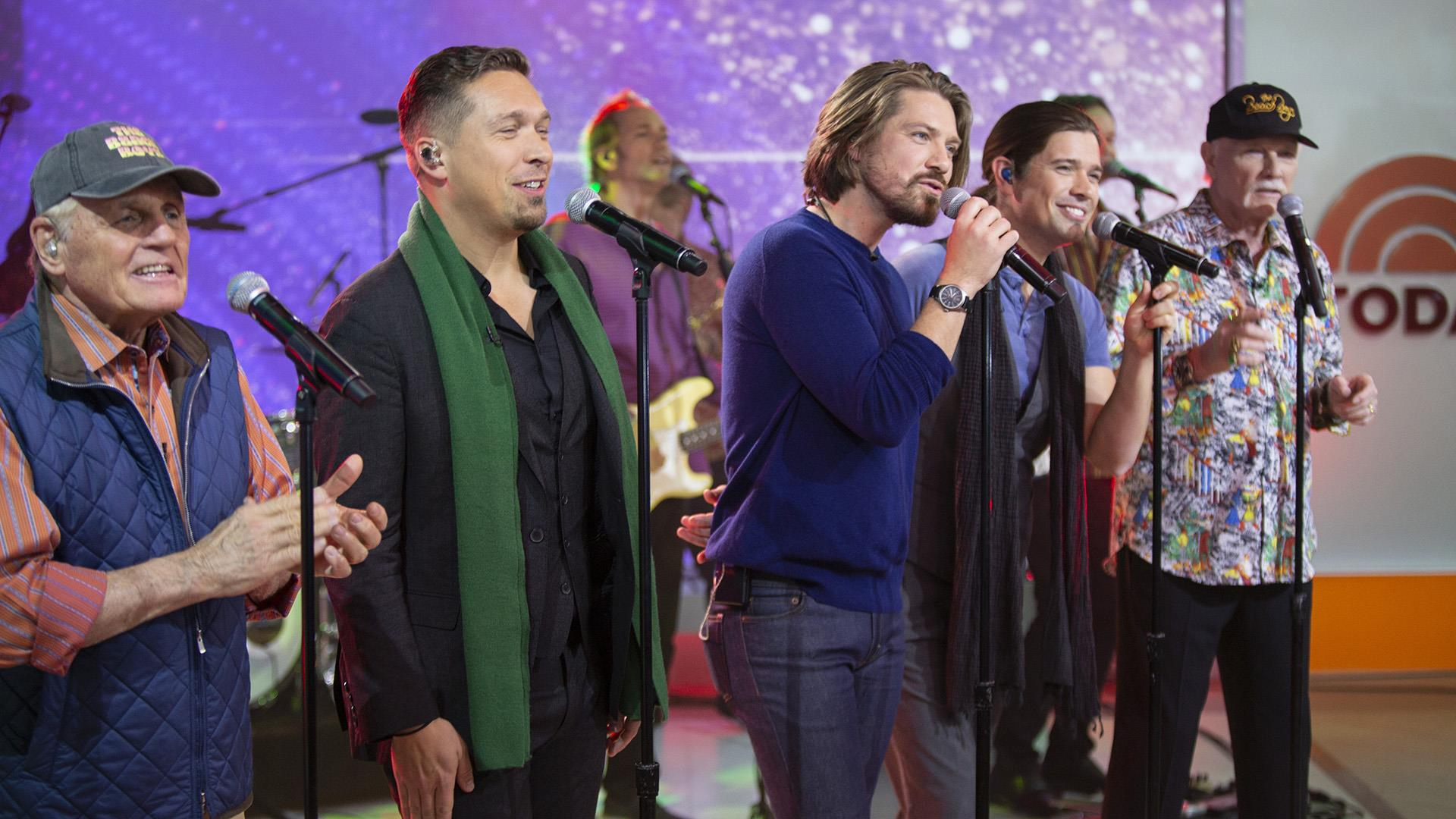 the beach boys and hanson perform finally it s christmas on today