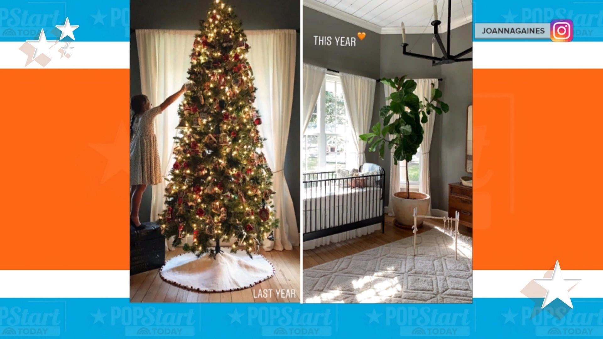 Joanna Gaines Put Her Christmas Tree In Her Bedroom