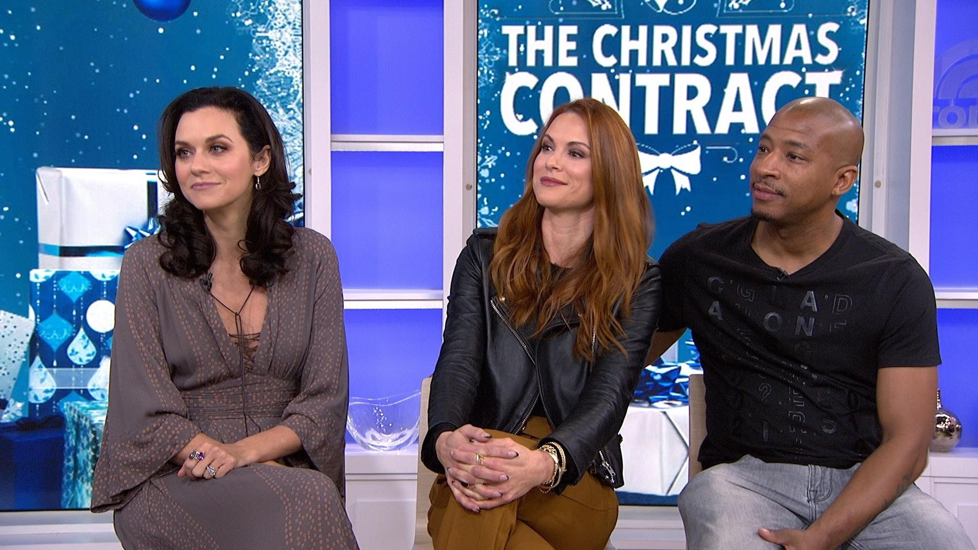 Christmas Contract.One Tree Hill Stars Talk Reuniting For The Christmas Contract