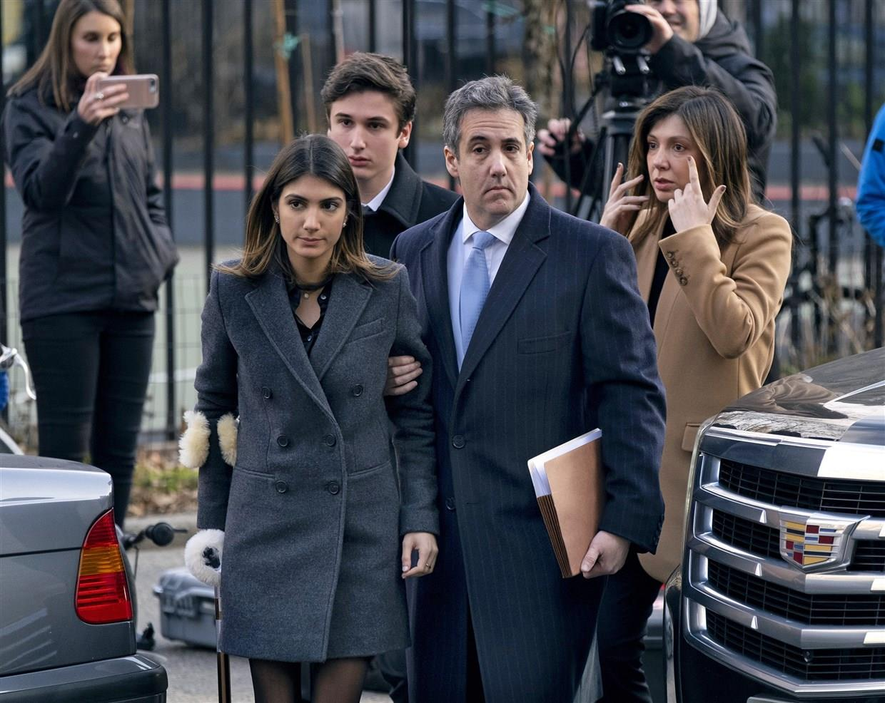 Ex-Trump personal lawyer Michael Cohen sentenced to 3 years in prison