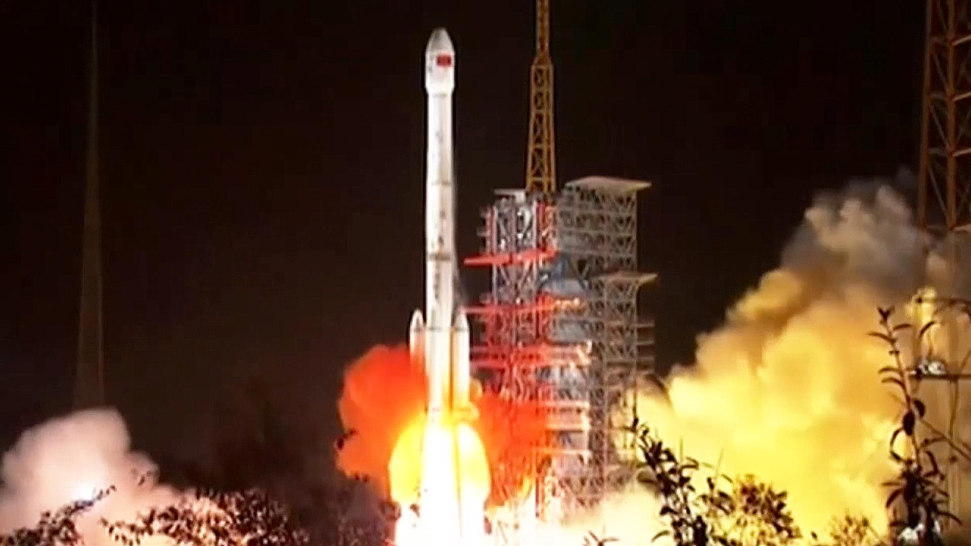 China launches historic mission to the moon's far side