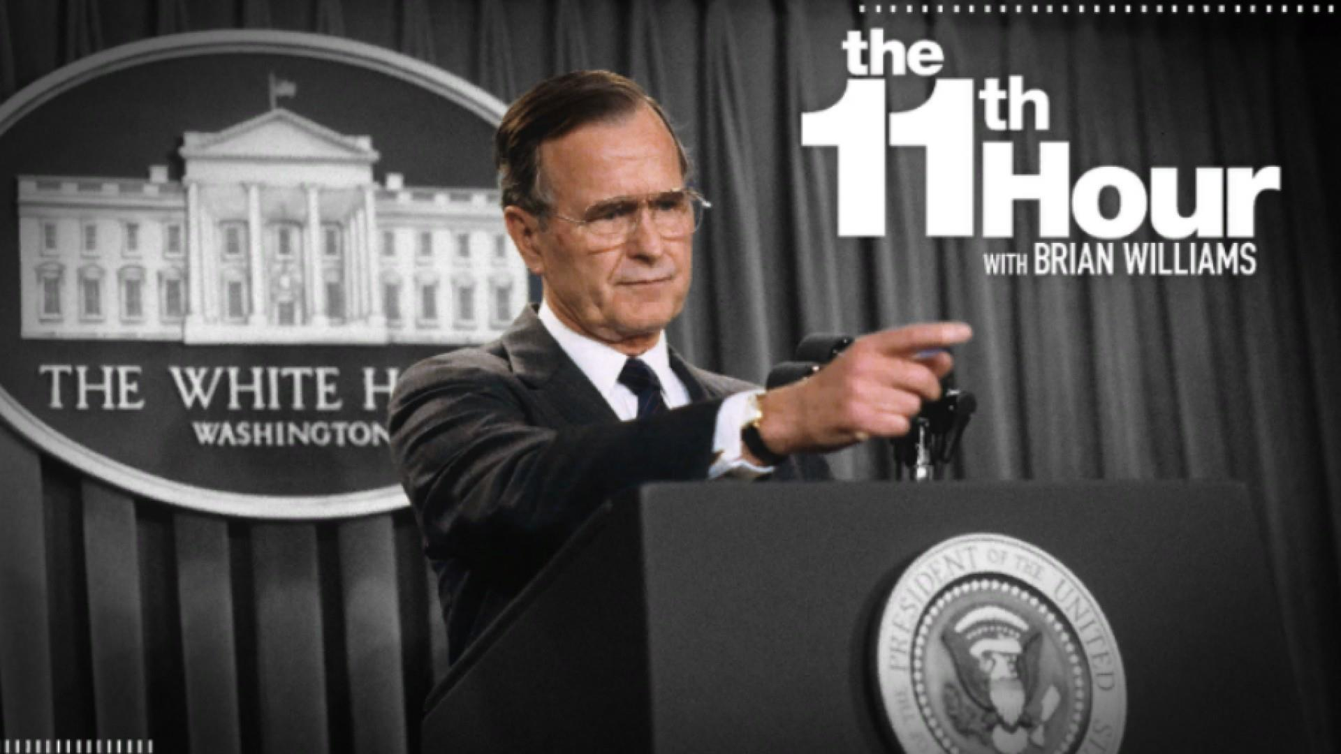 Bush 41's indelible mark on American presidential history
