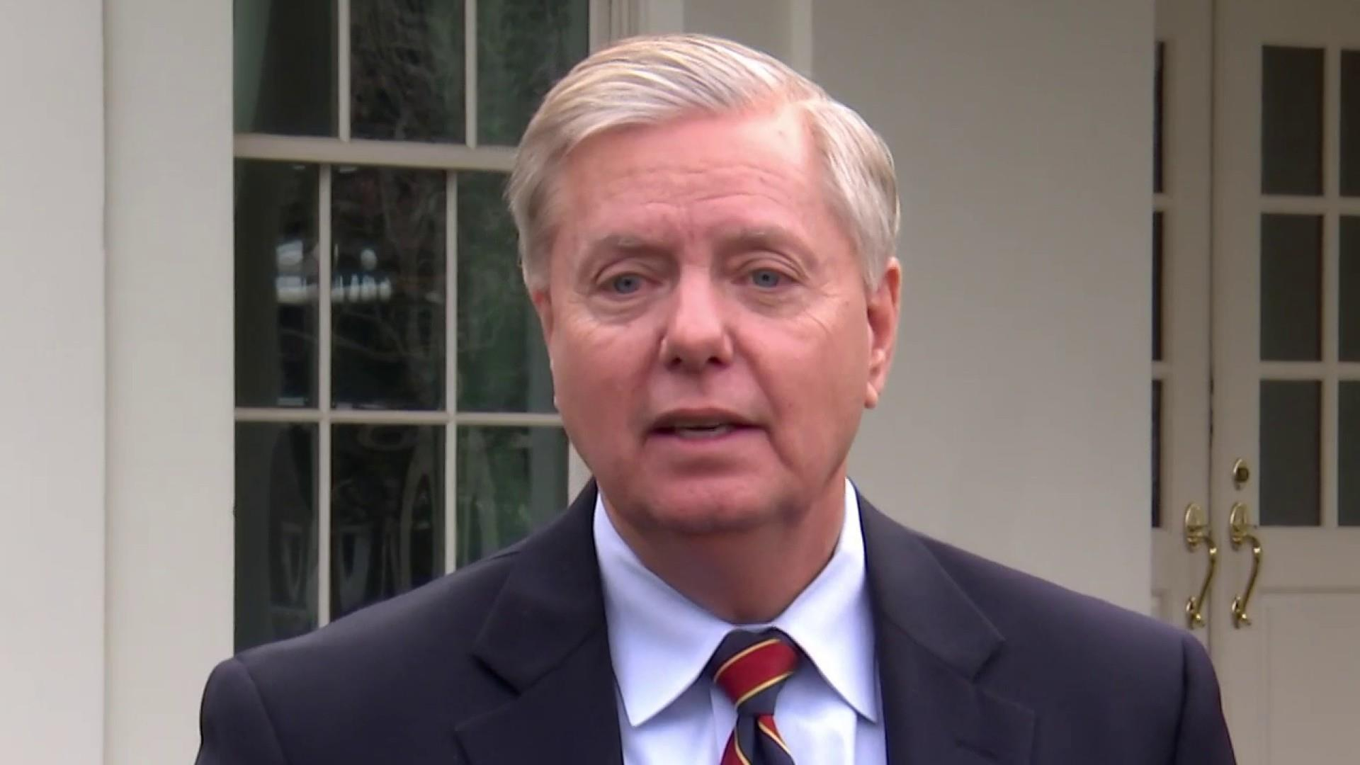 sen lindsey graham speaks out about syria withdrawal