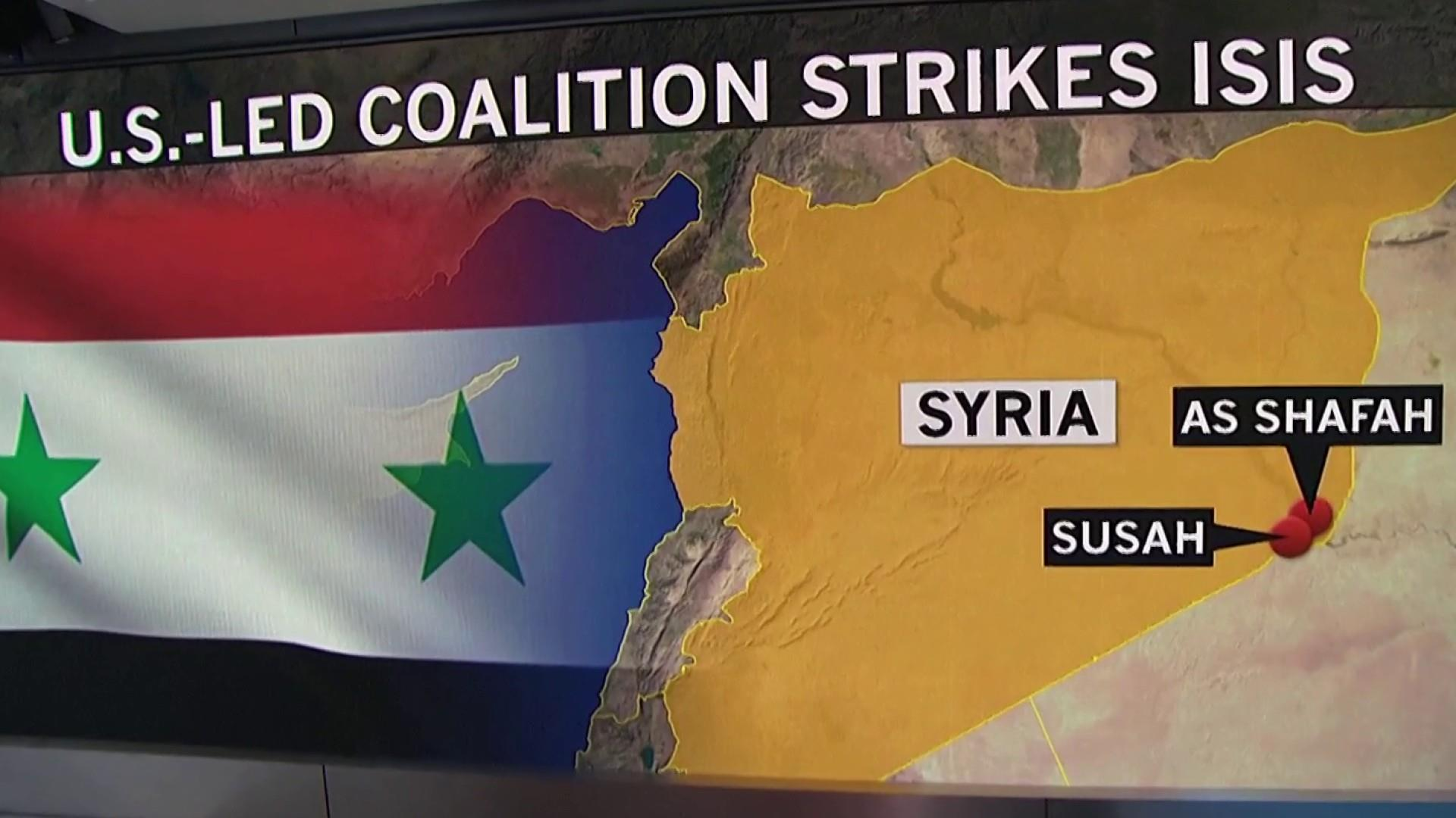 What is the U.S. military strategy in Syria?