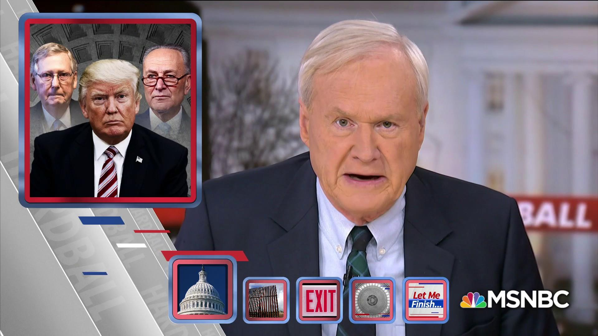 Matthews: Trump's mercurial instincts plunged DC into chaos