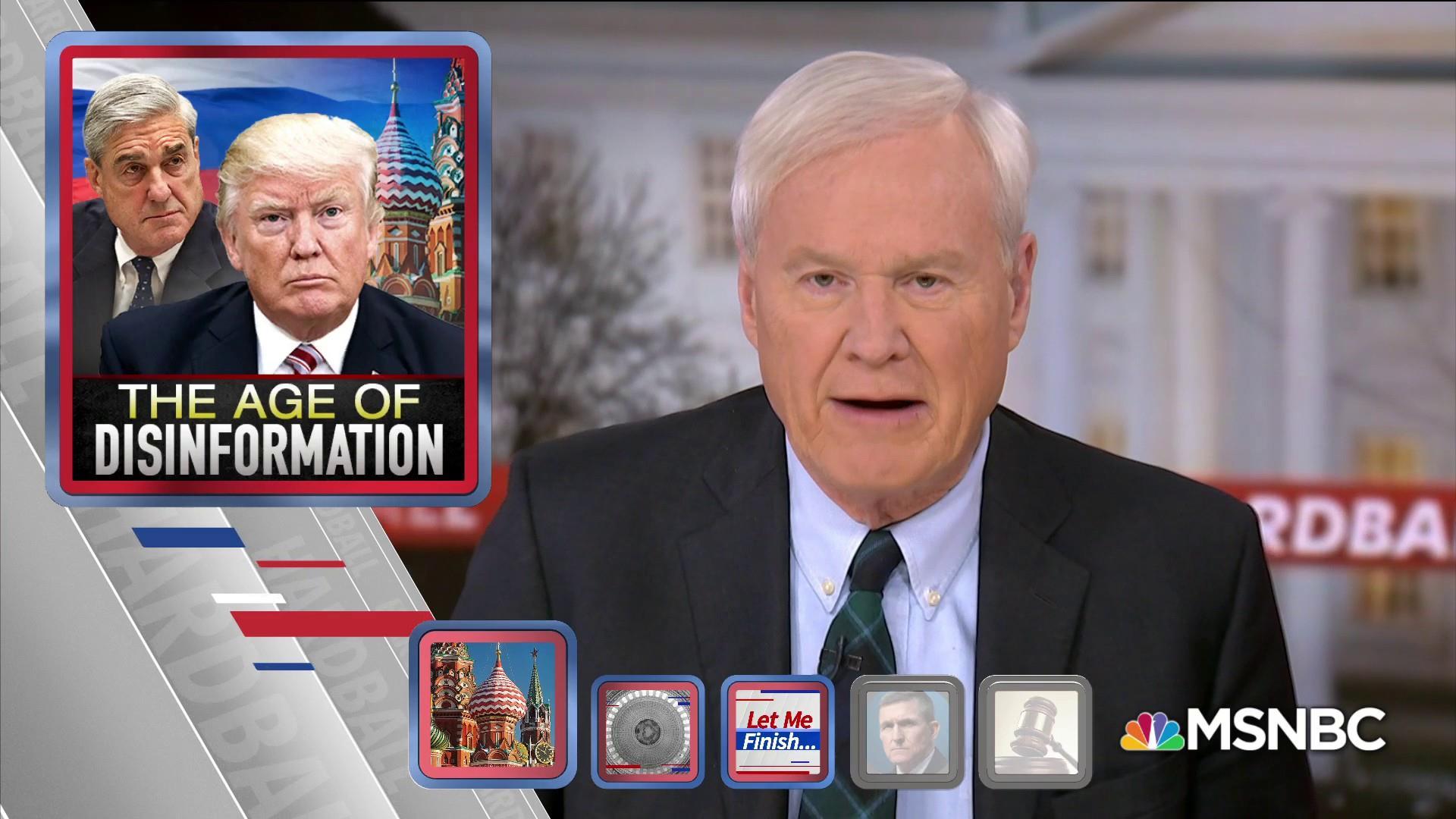 Matthews: Russia never stopped meddling on behalf of Trump